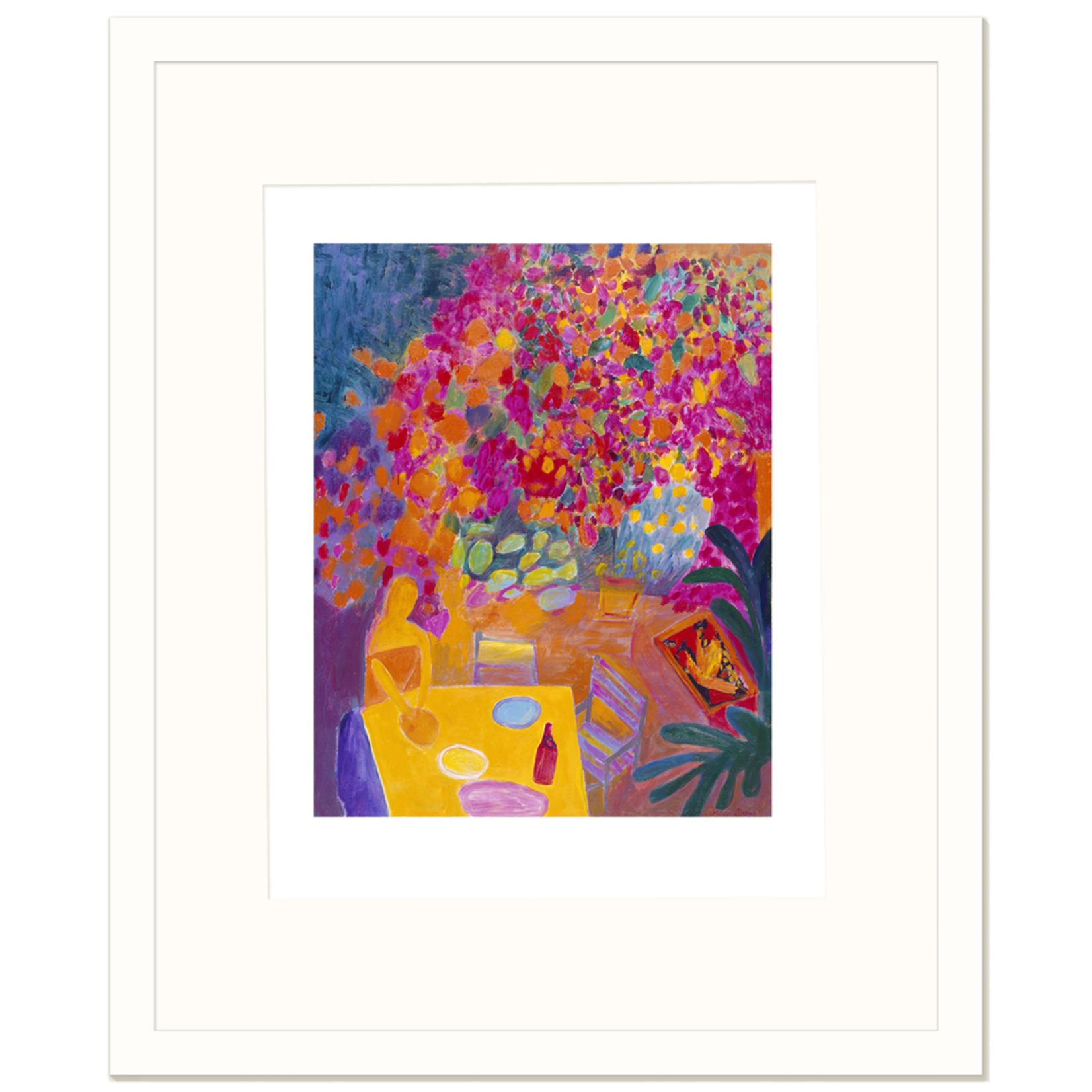 Limited Edition Prints Bougainvillea barbeque, 2000