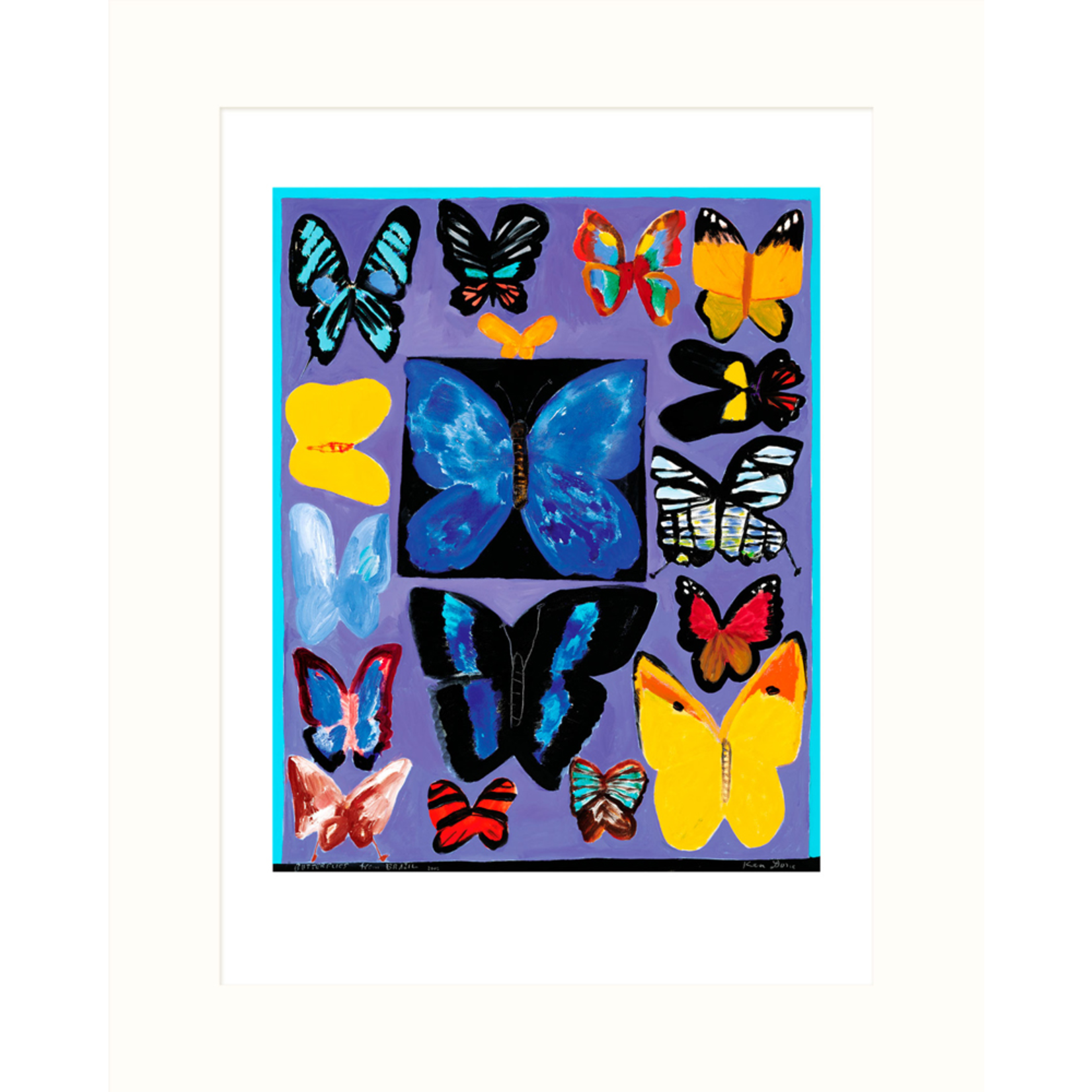 Limited Edition Prints Butterflies from Brazil, 2003