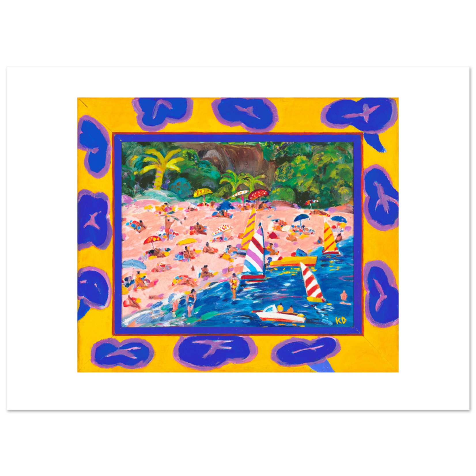 Limited Edition Prints Chinamans Beach, 1985