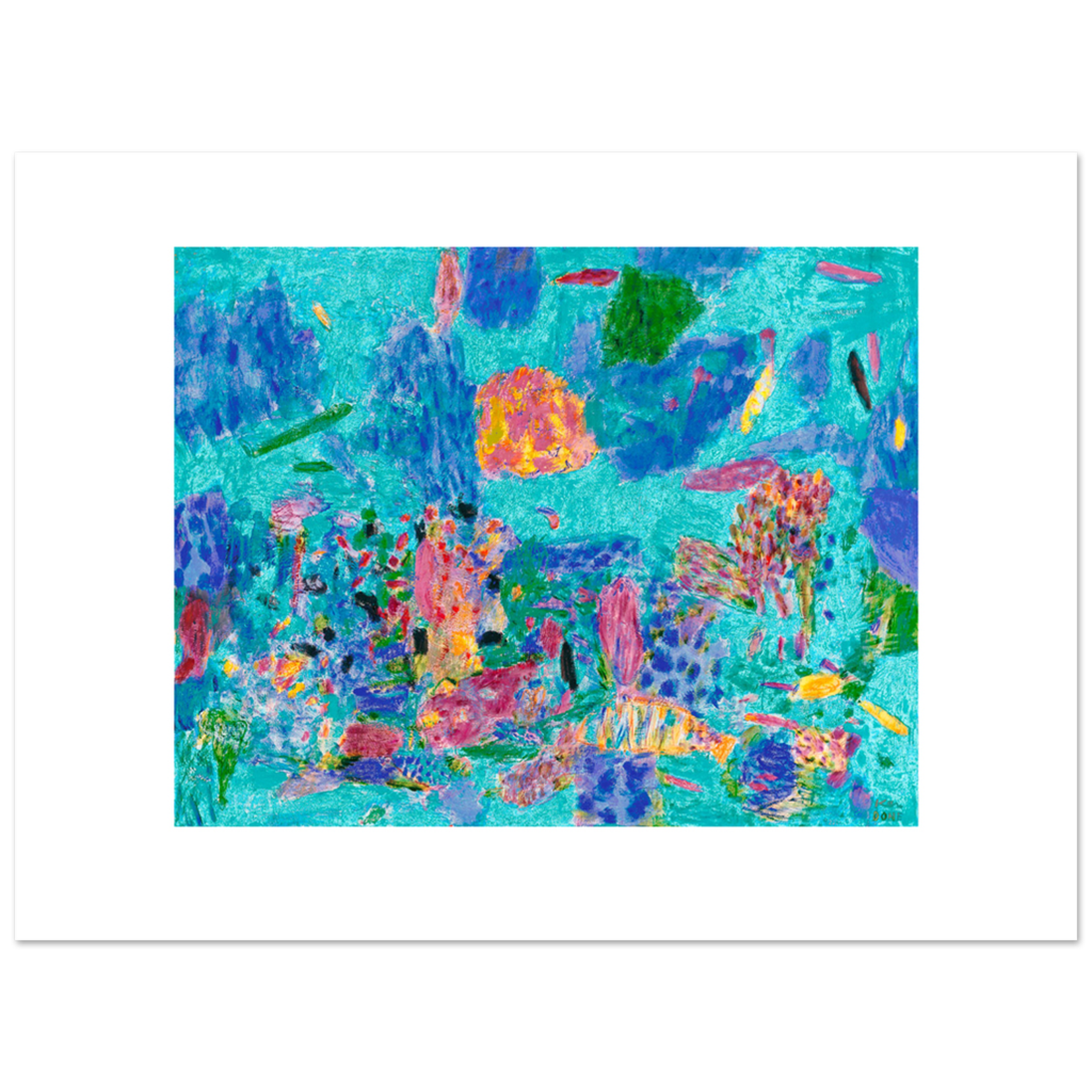Limited Edition Prints December reef, 2001