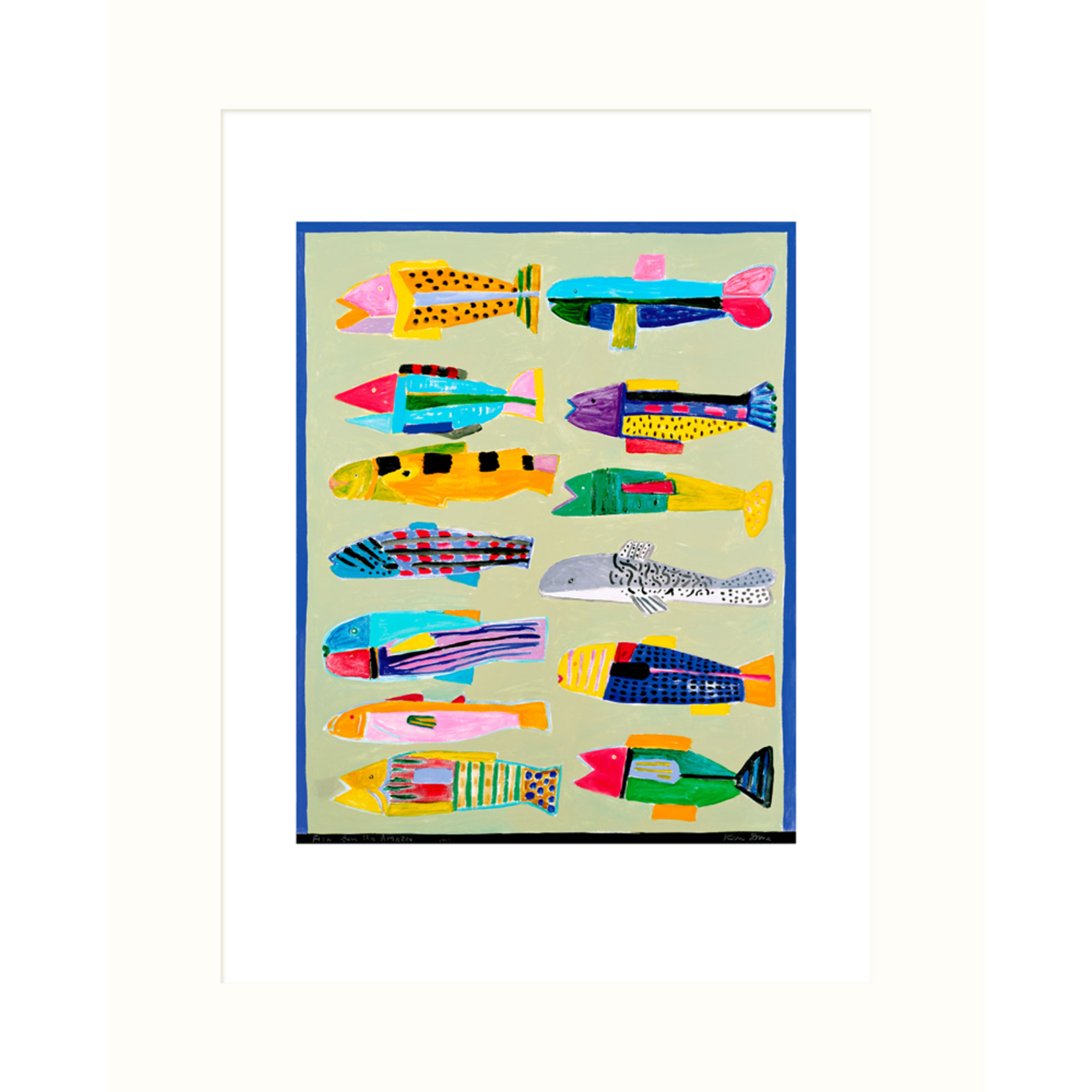 Limited Edition Prints Fish from the Amazon, 2003