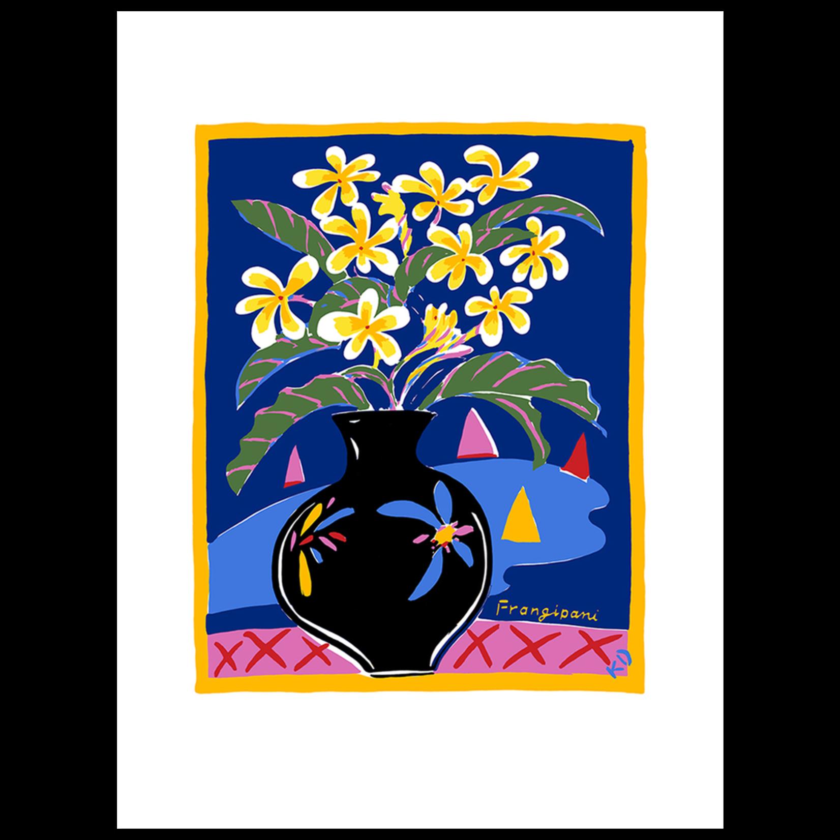 Limited Edition Prints Frangipani, 1984