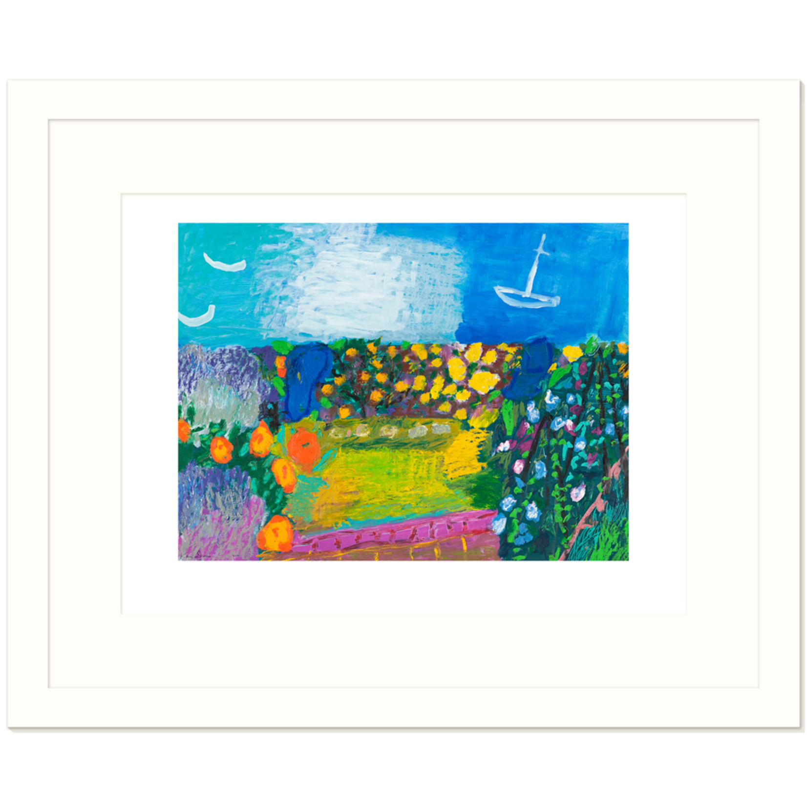 Limited Edition Prints Garden by the sea I, 2010