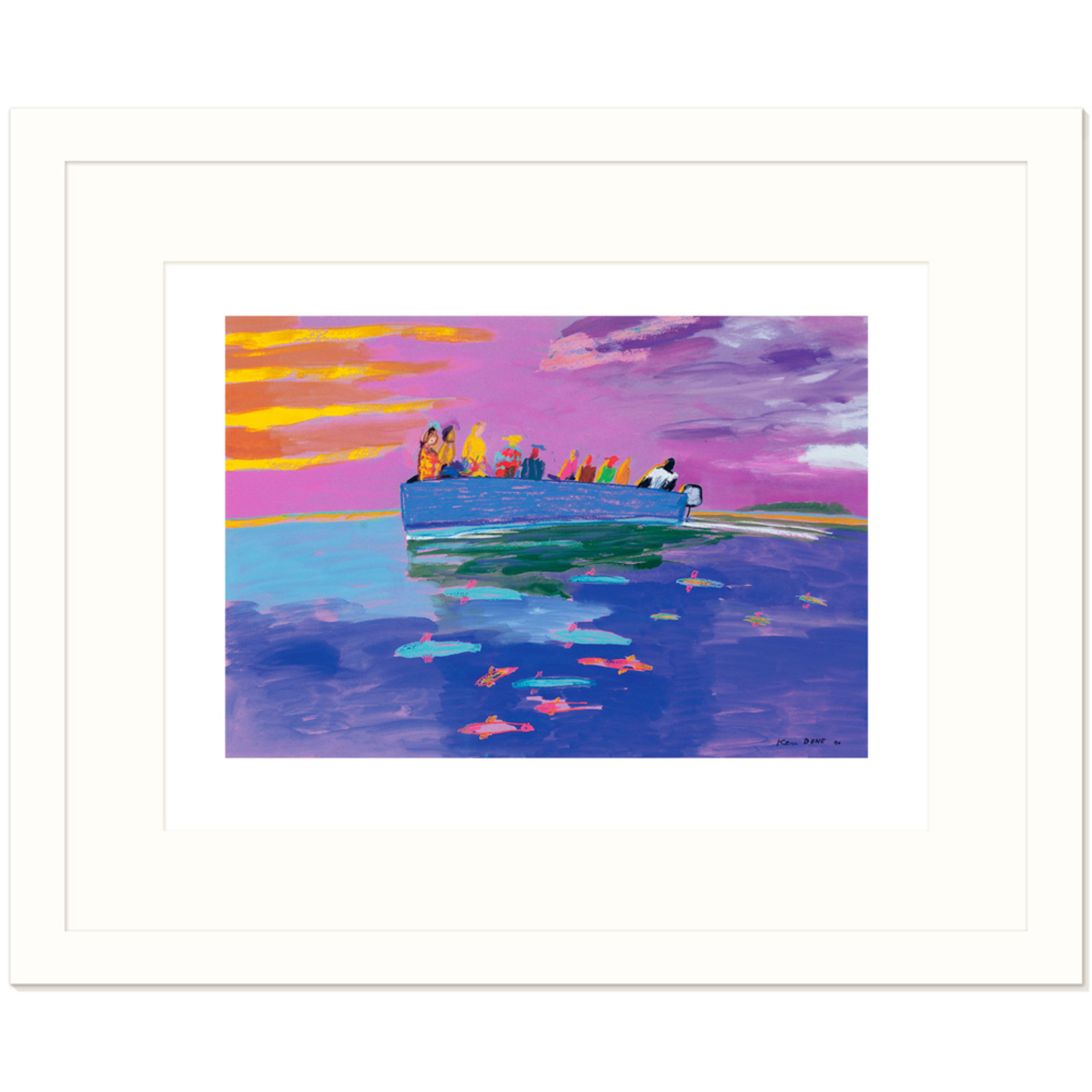 Limited Edition Prints Going home, 1990