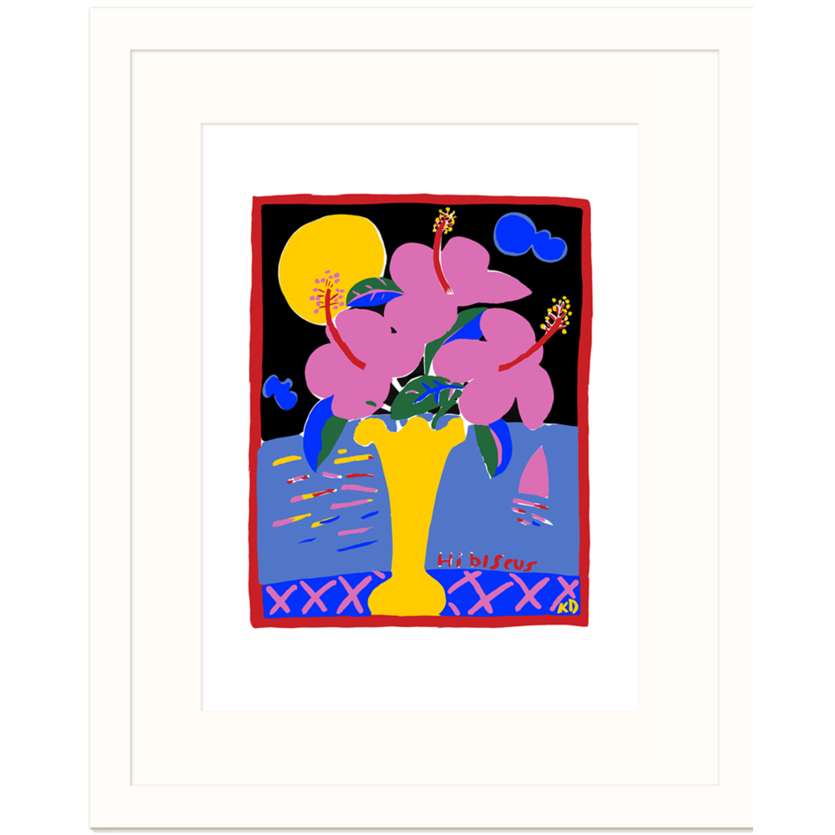 Limited Edition Prints Hibiscus, 1984