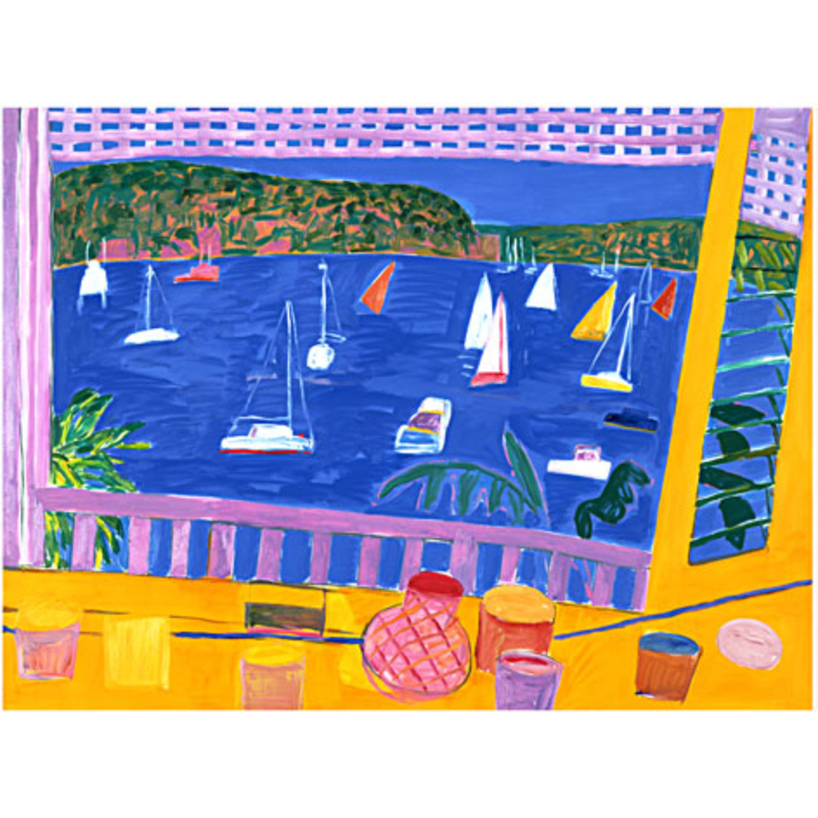 Limited Edition Prints Long view of the Cabin I-IV, 1992