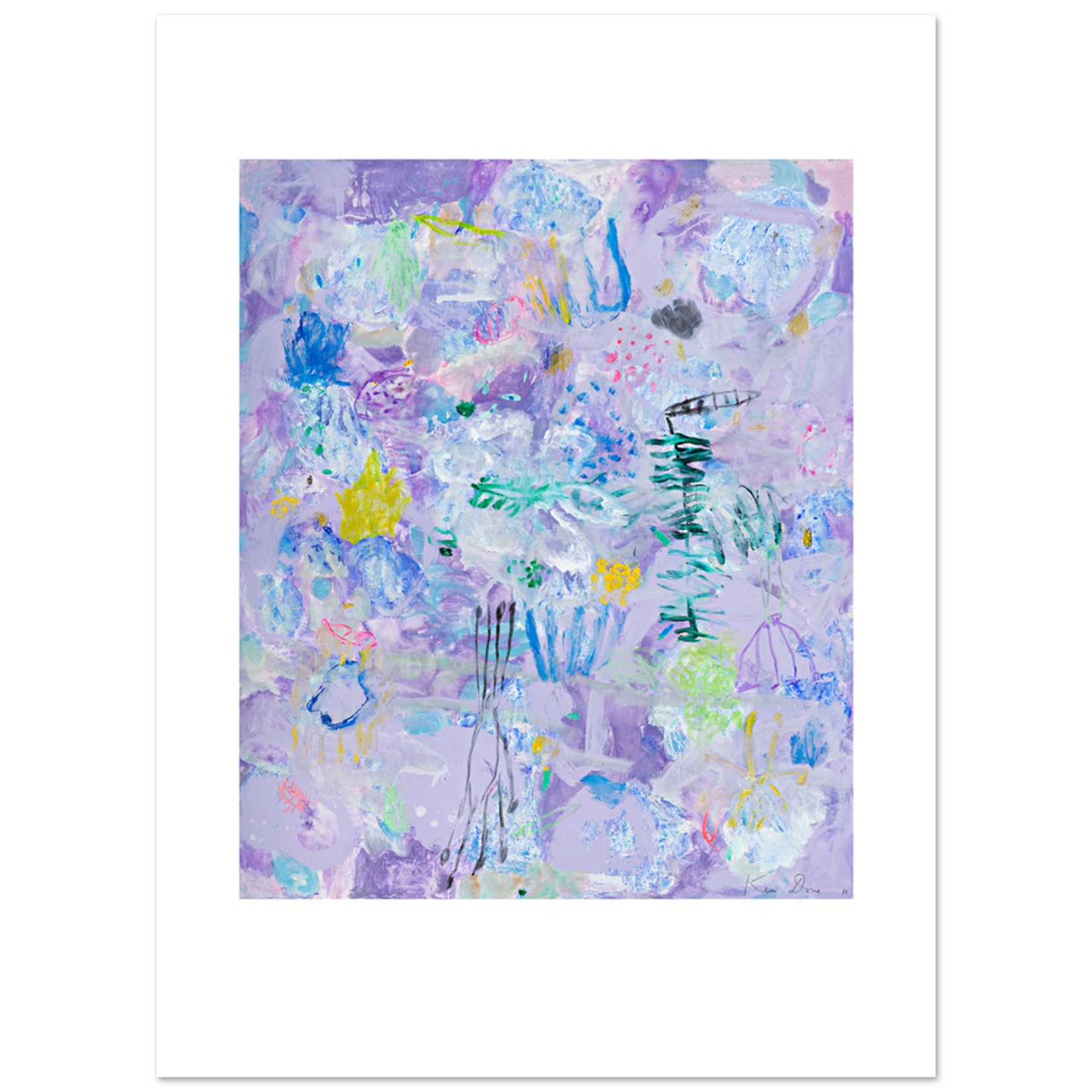 Limited Edition Prints Mauve sea garden, 2011