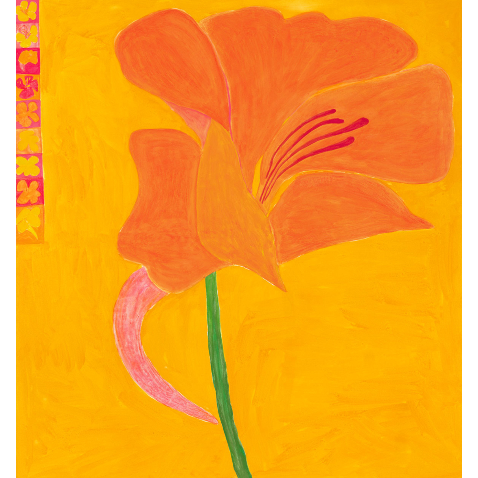 Limited Edition Prints Nasturtium, 1993