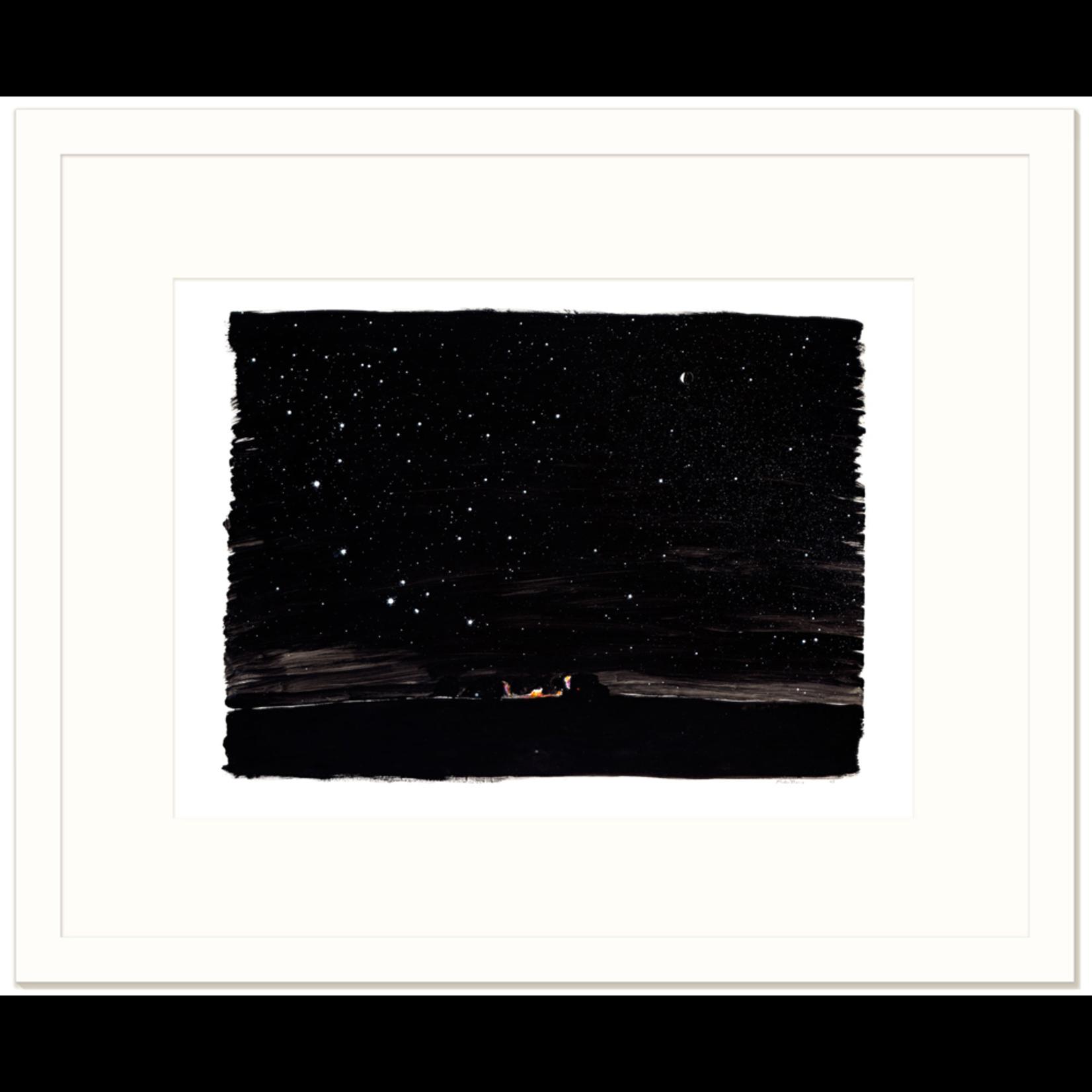 Limited Edition Prints Night camp, Dingo Soak, 1997