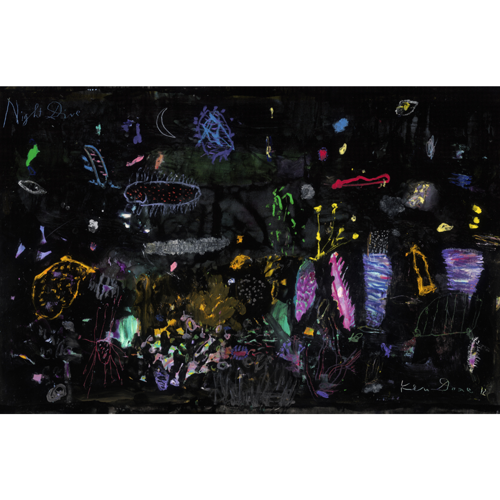 Limited Edition Prints Night dive I, 2012