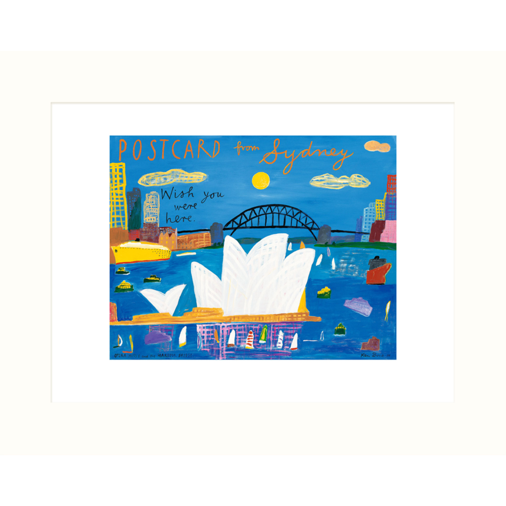 Limited Edition Prints Opera House and Harbour Bridge, 1996