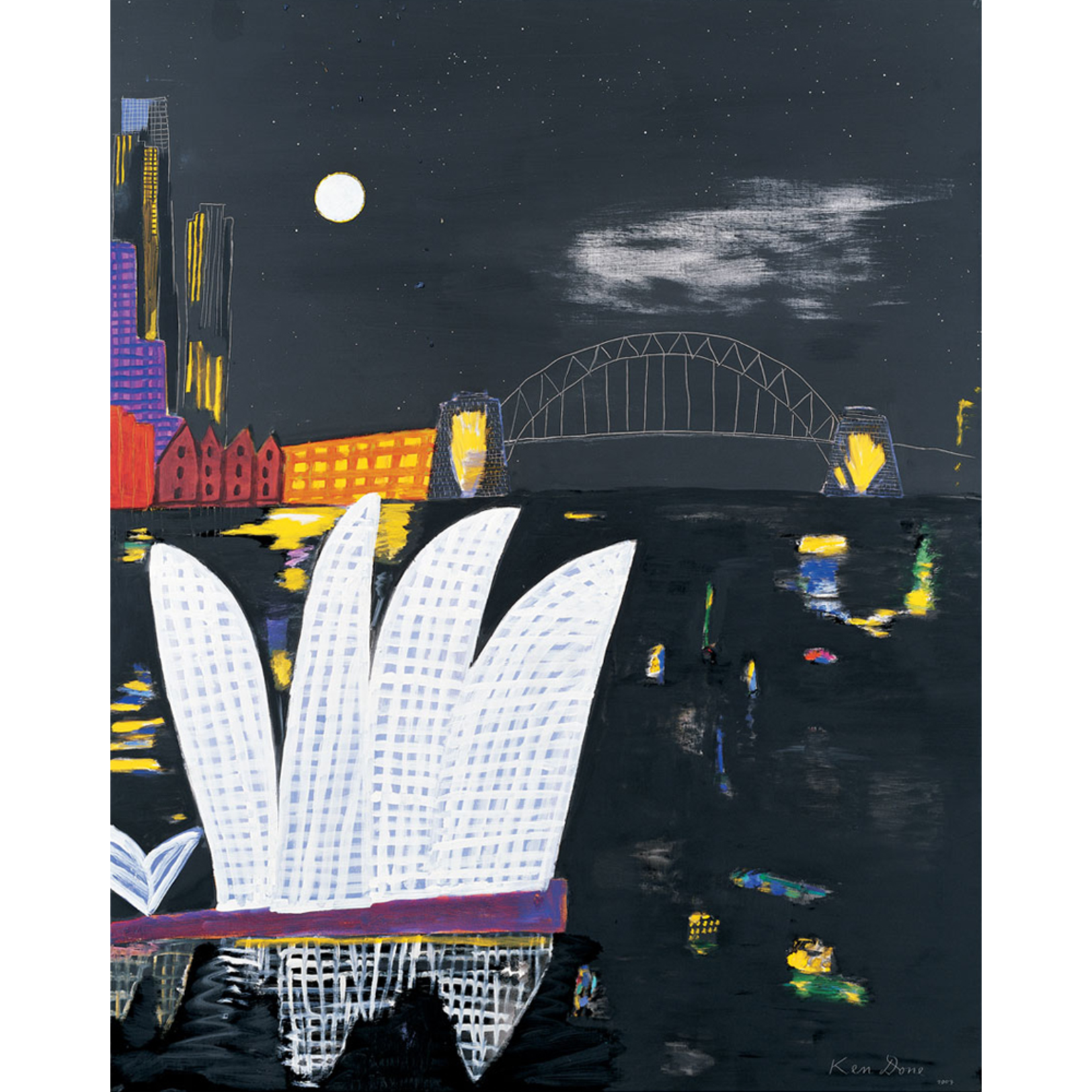Limited Edition Prints Opera House moon, 2004