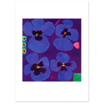 Limited Edition Prints Pansies, 1993
