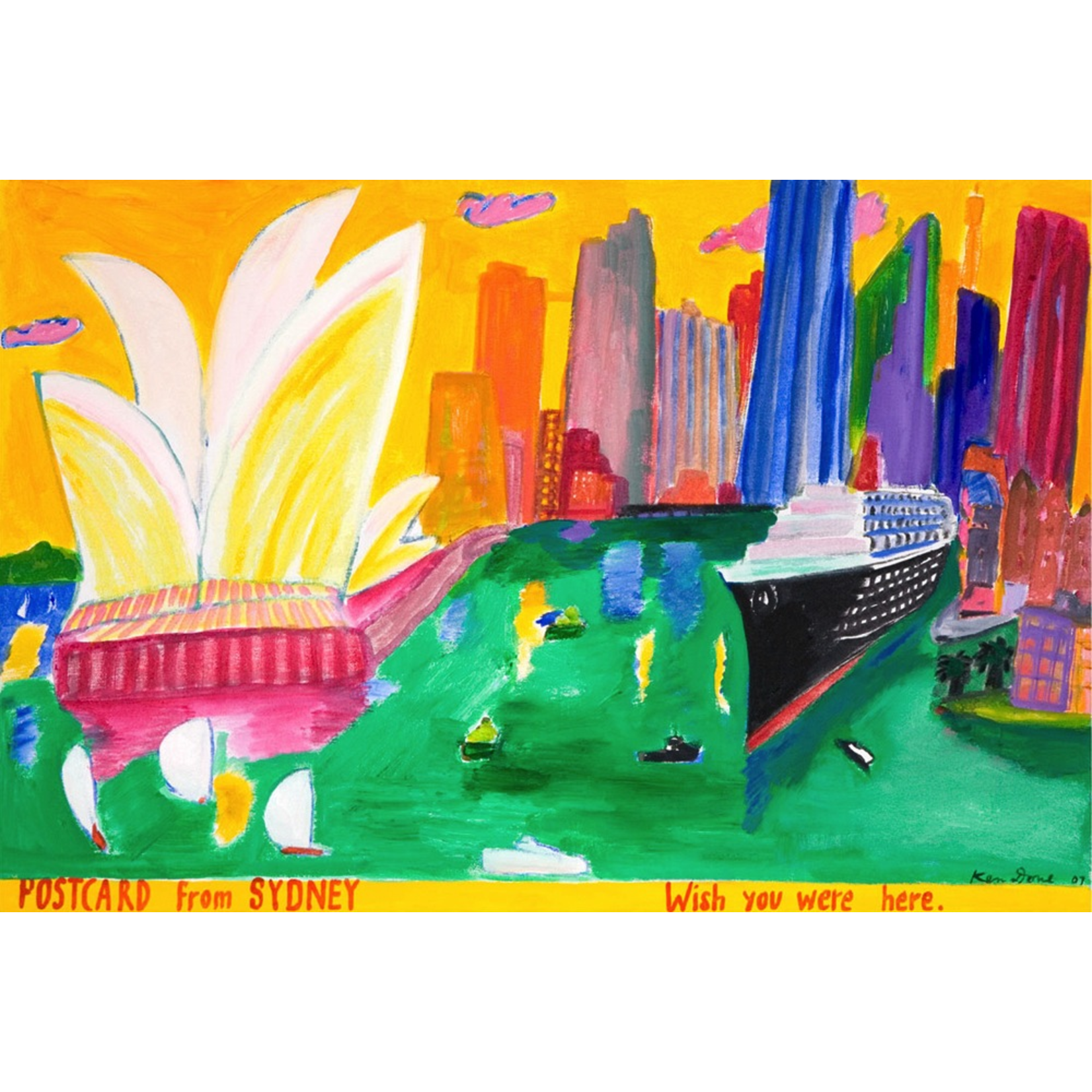 Limited Edition Prints Postcard from Sydney, 2007