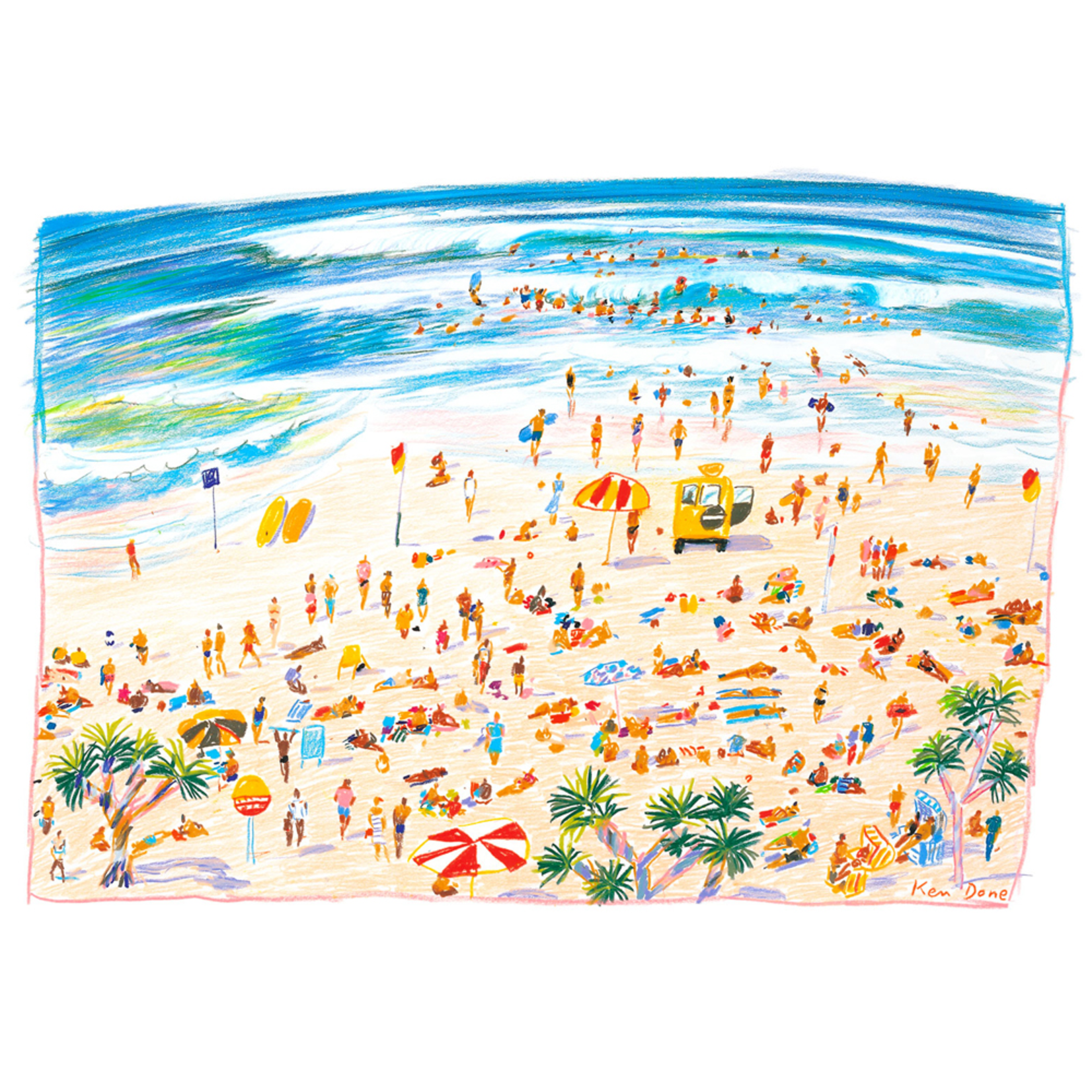 Limited Edition Prints Beach, 1985