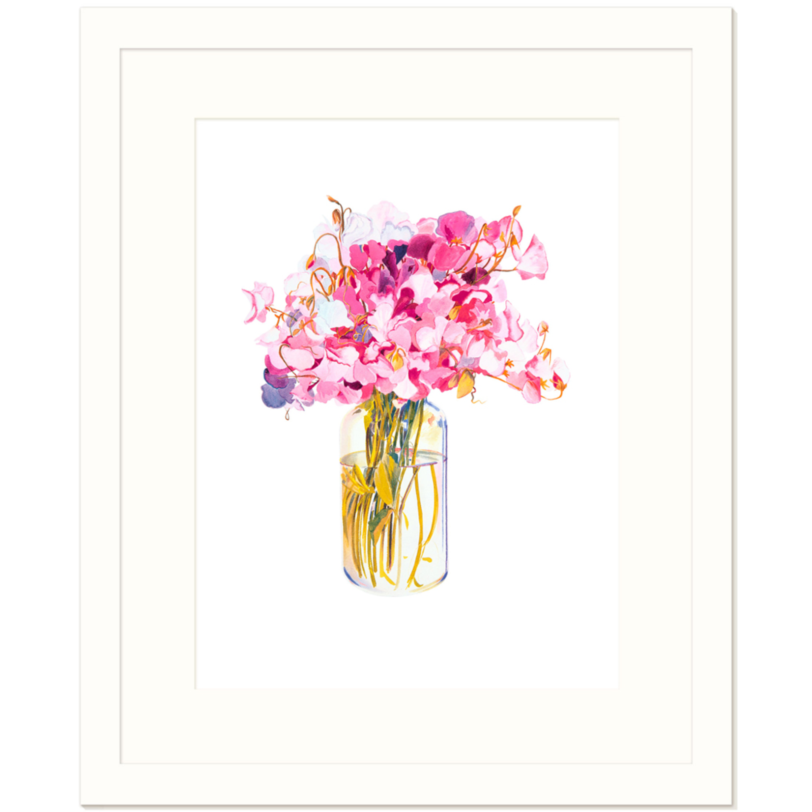 Limited Edition Prints Sweetpeas, 1979