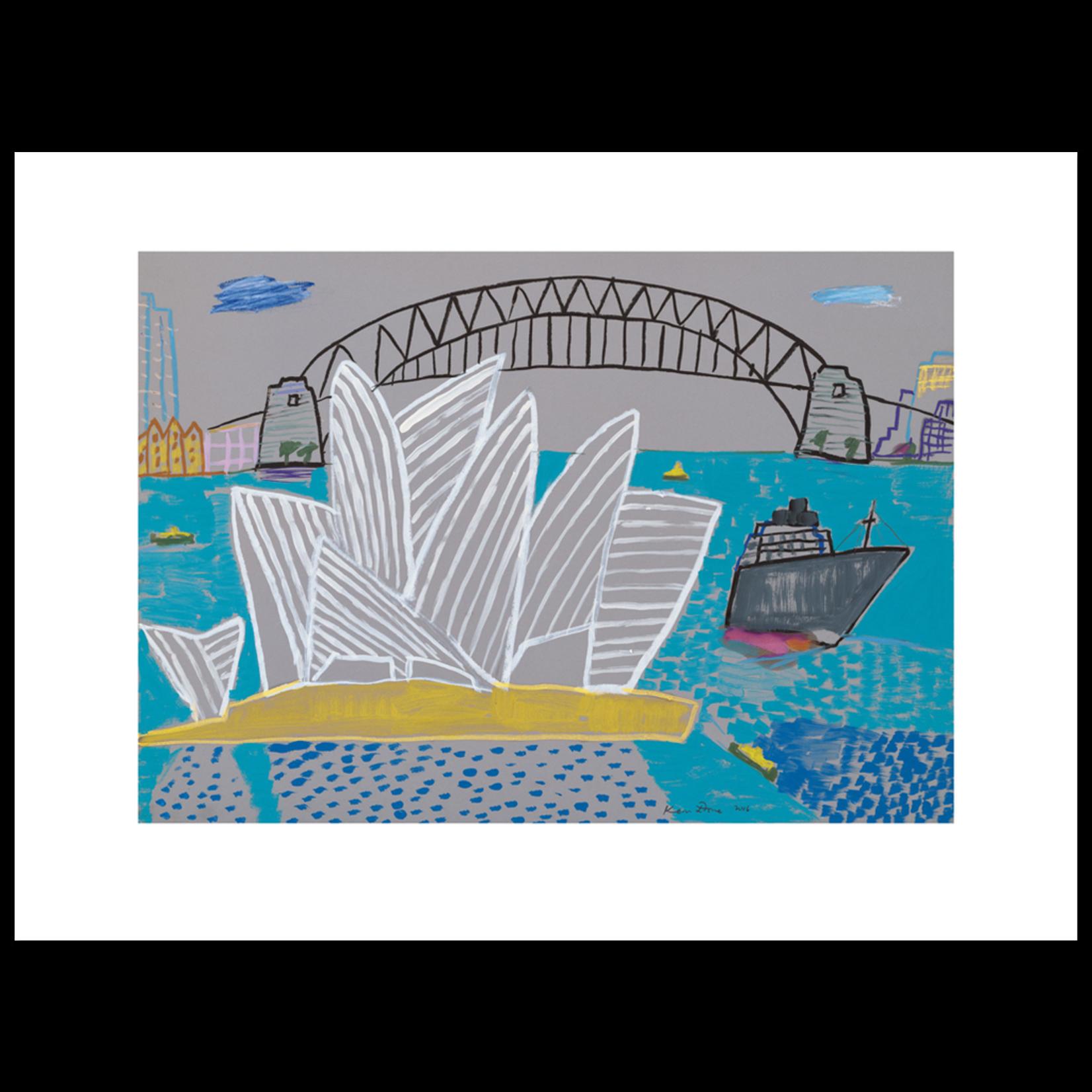 Limited Edition Prints Sydney Opera House, grey ship, 2006
