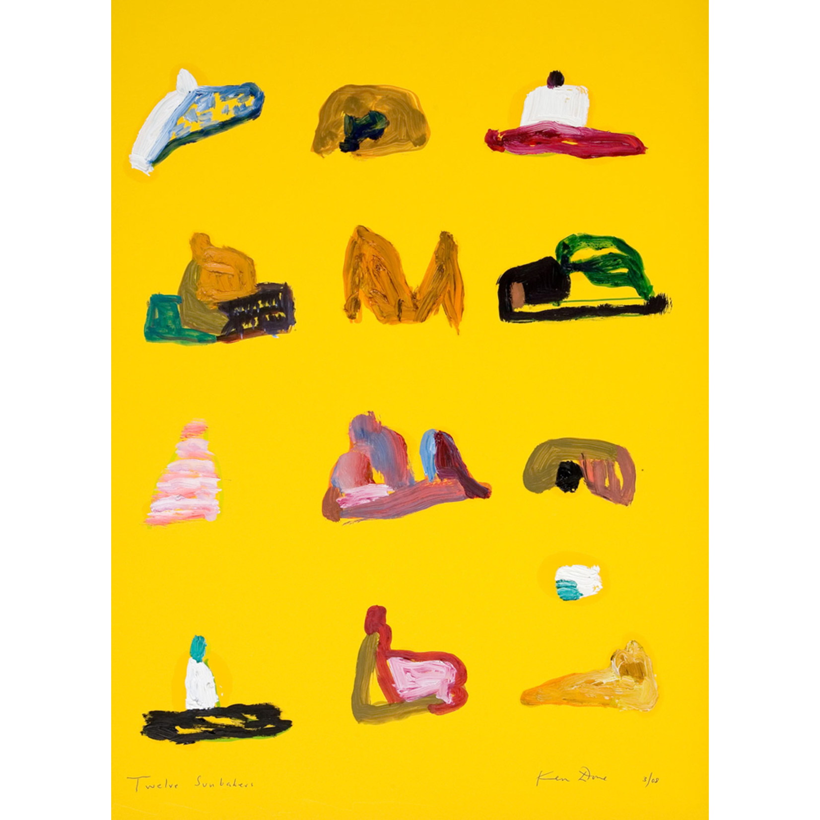 Limited Edition Prints Twelve sunbakers, 2008