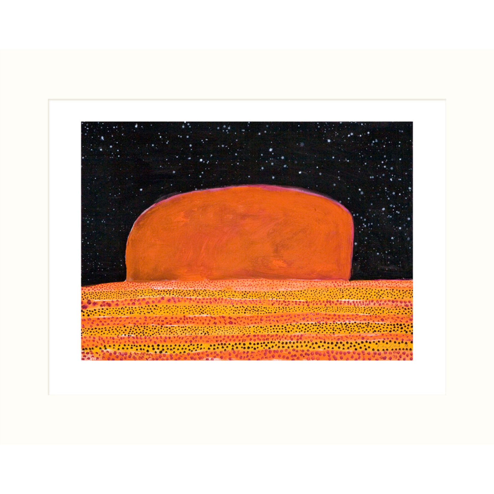 Limited Edition Prints Uluru, 2008