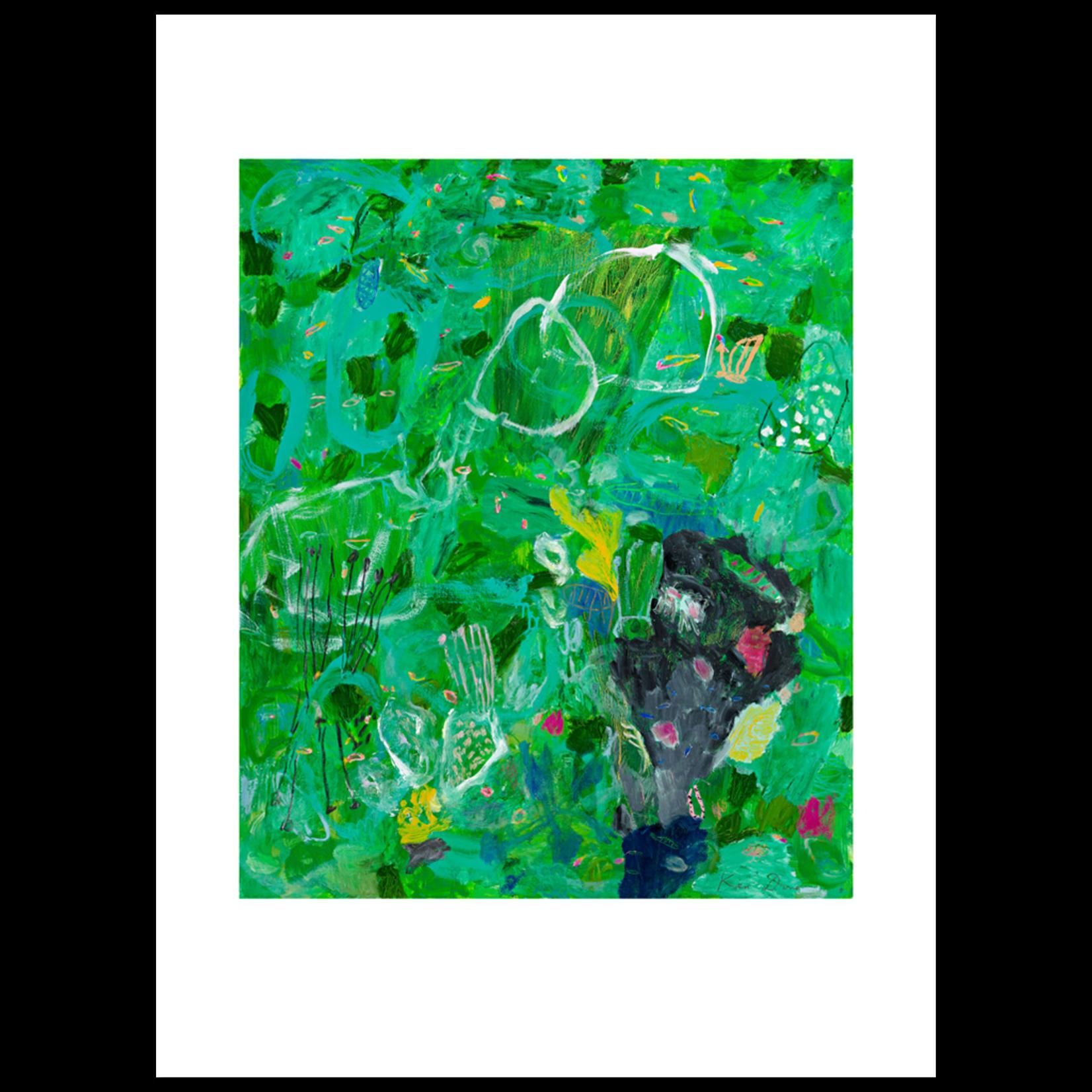 Limited Edition Prints Viridian sea garden, 2011