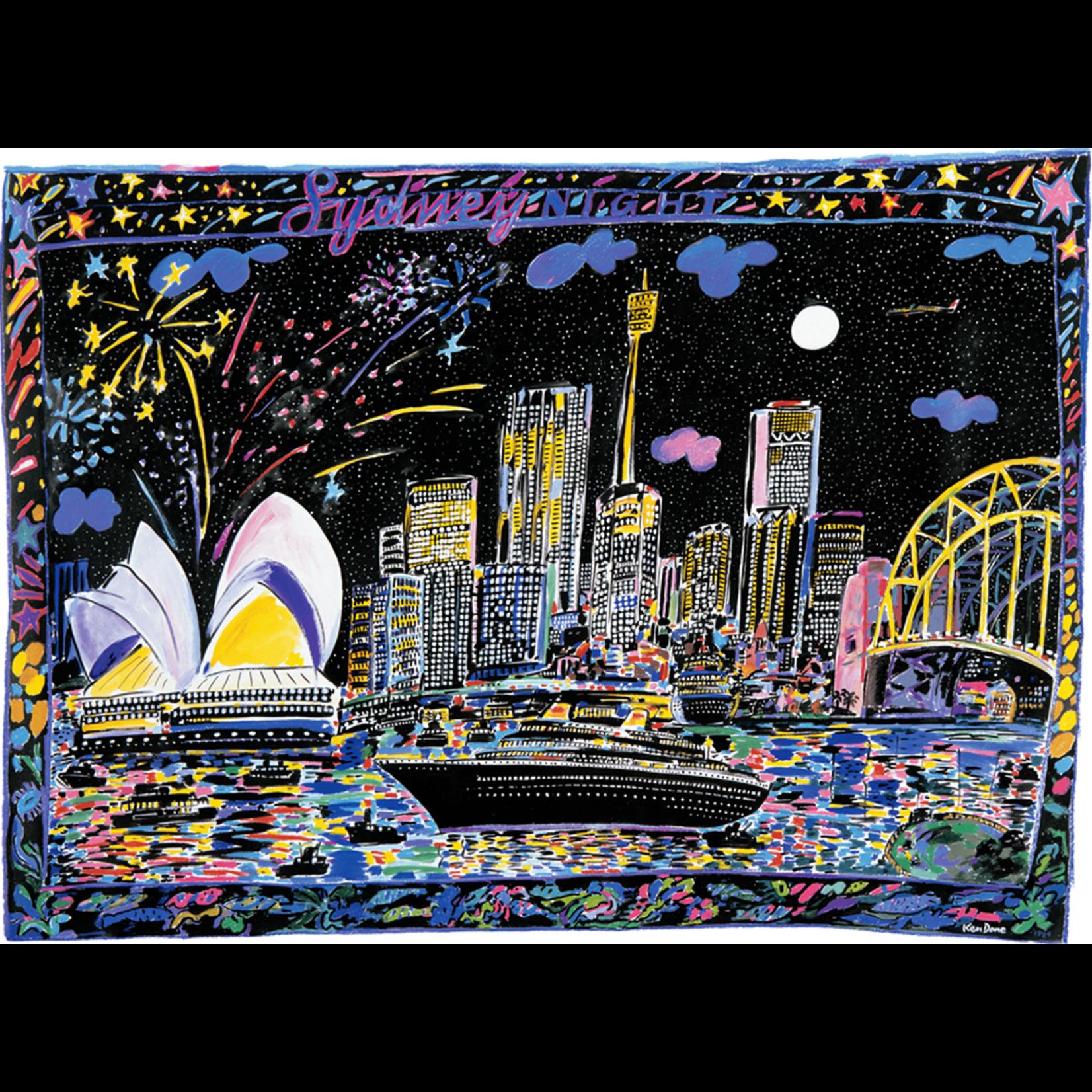 Limited Edition Prints Sydney night, 1984