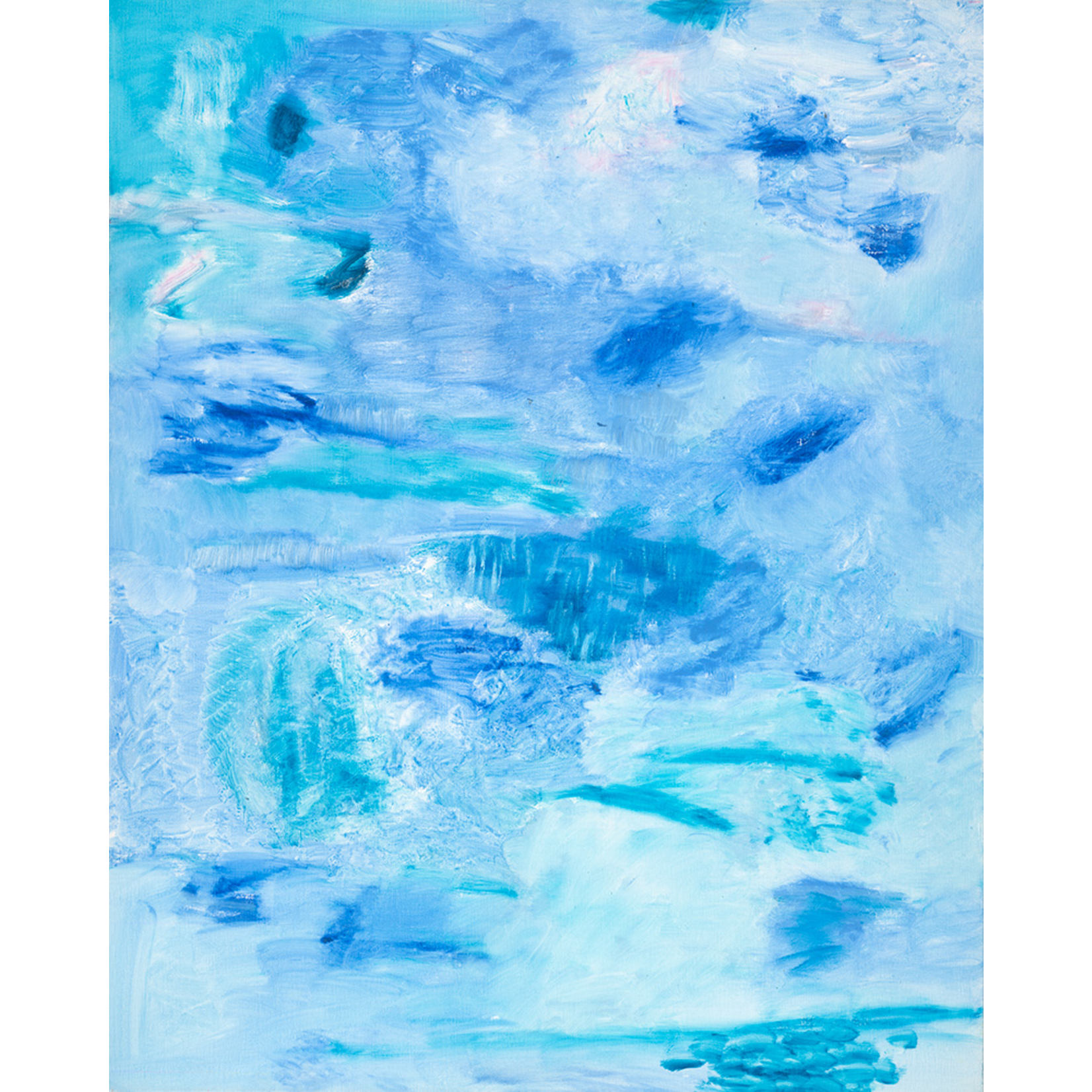 Limited Edition Prints Blue ice I, 2016