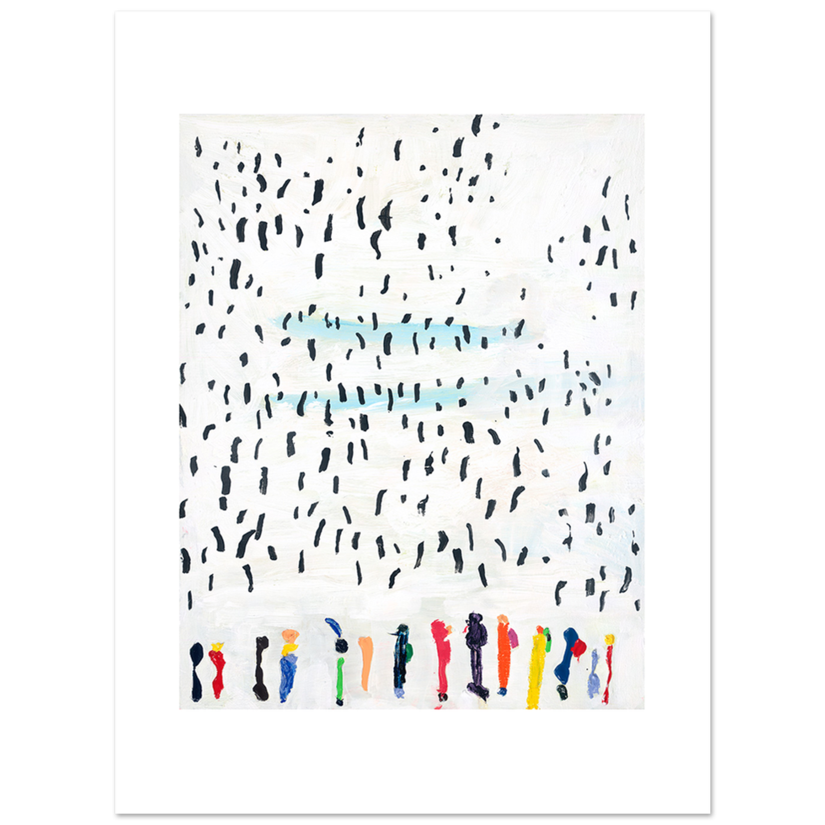 Limited Edition Prints Penguins and people III, 2015