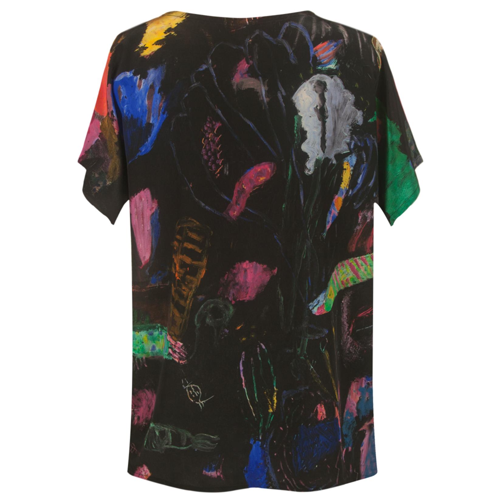 Clothing Art top silk - Night dive