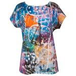 Clothing Art top cotton - Swimming in jellyfish lake