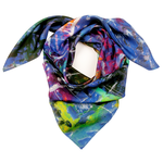 Accessories Silk scarf - Swimming in jellyfish lake