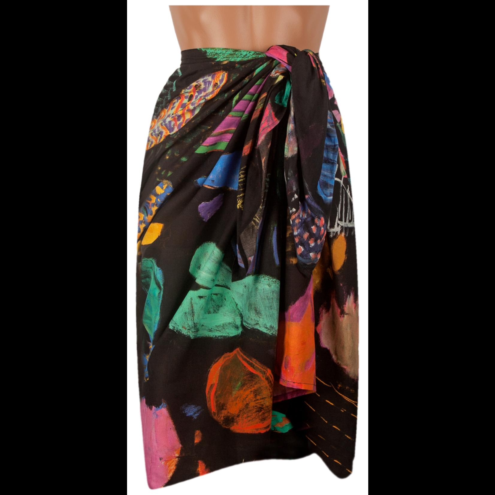 Clothing Pareo - Black reef