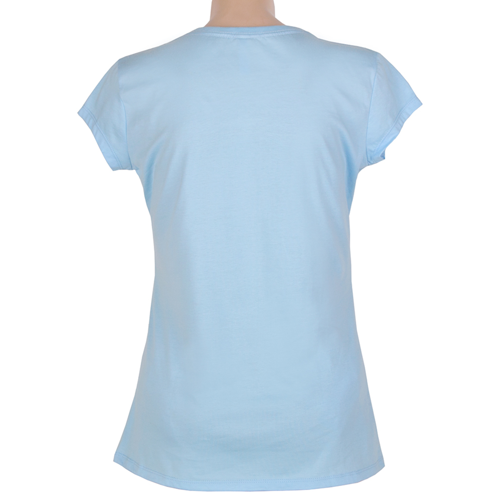 Clothing Tshirt - Fitted - Classic Sydney Sky Blue
