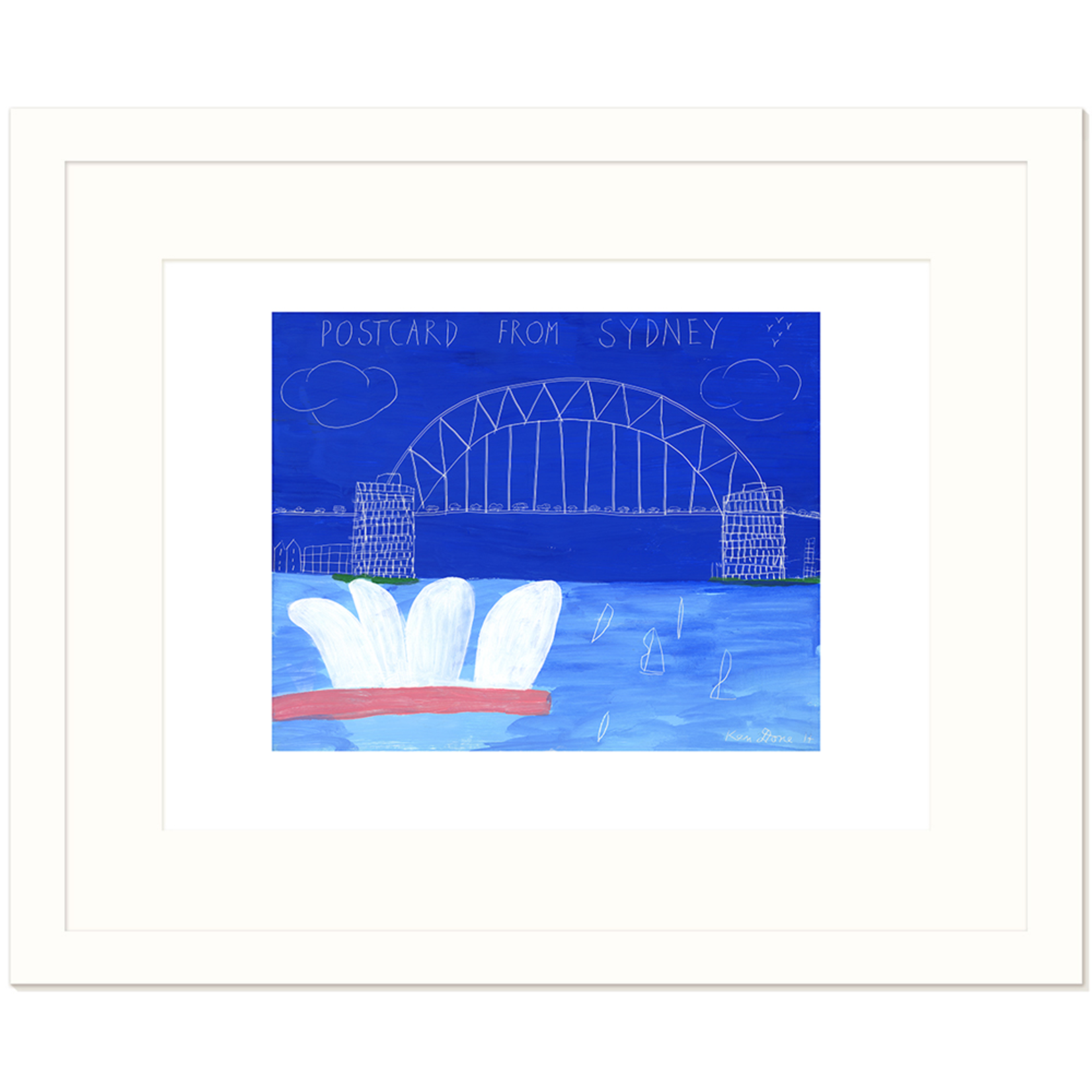 Limited Edition Prints Postcard from Sydney II, 2014