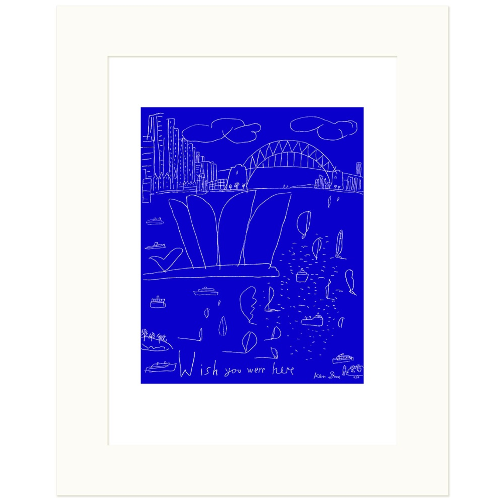 Limited Edition Prints Postcard from Sydney, 12/2014
