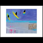 Limited Edition Prints Glancing at the kayaks, 2003
