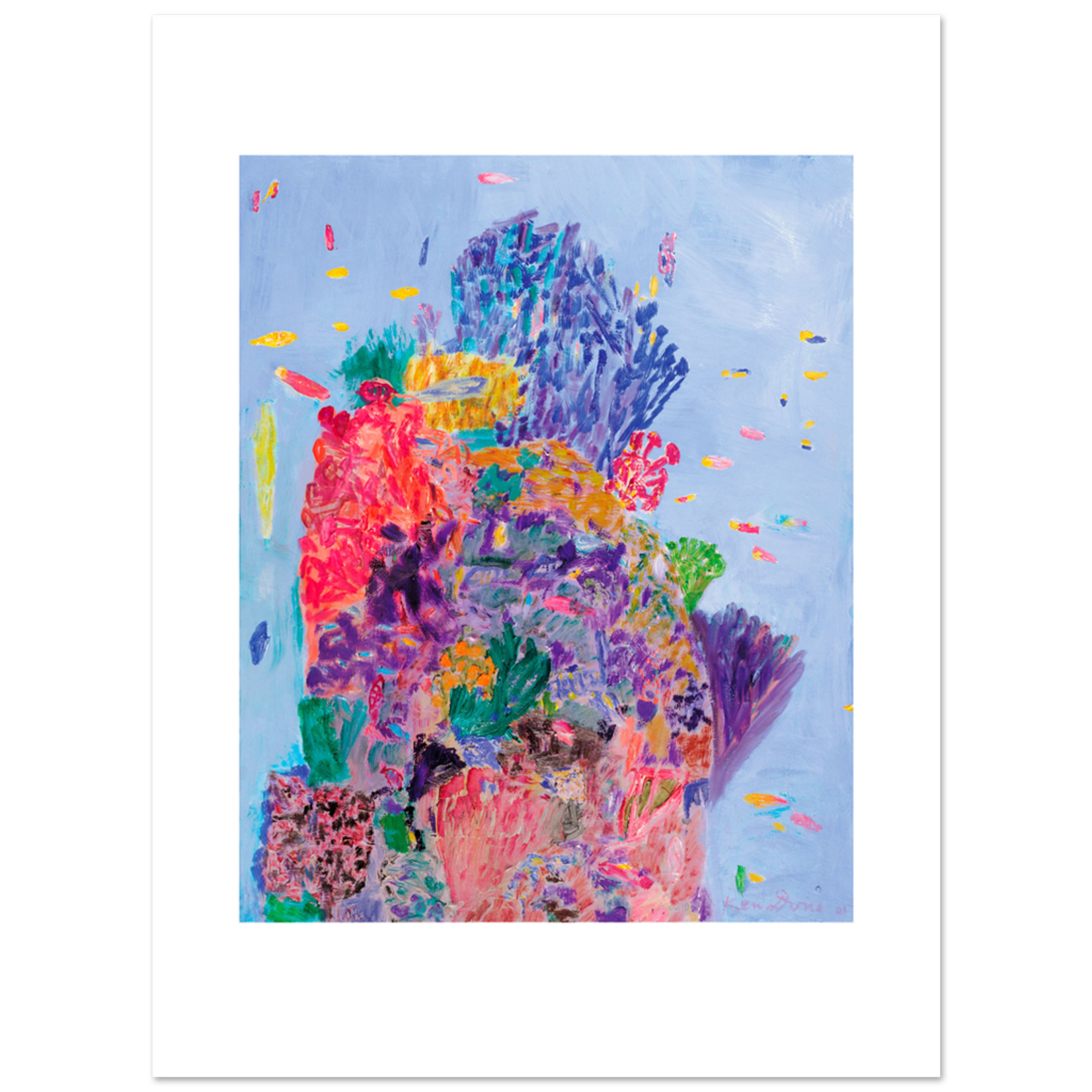 Limited Edition Prints Coral head IV, 2005