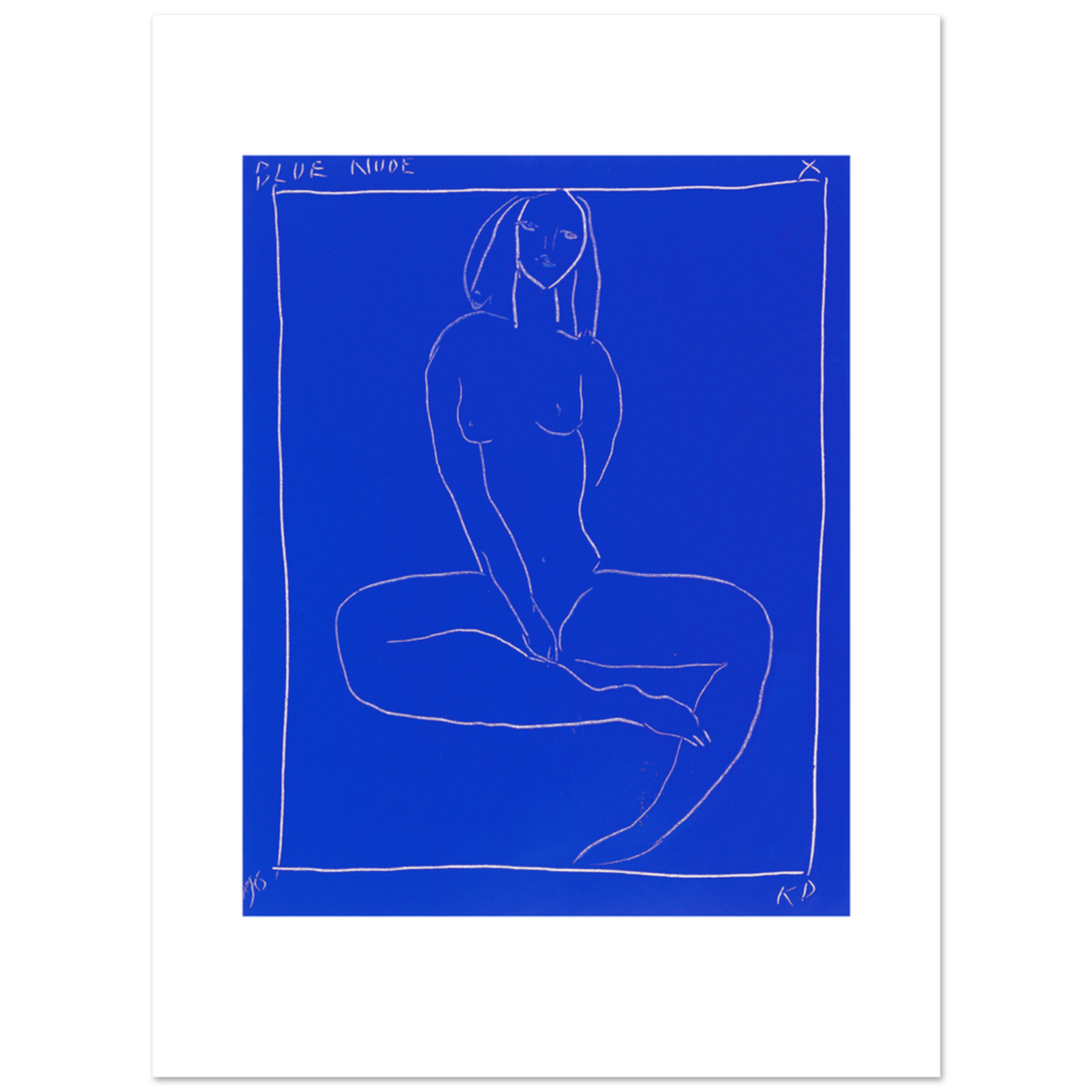 Limited Edition Prints Blue nude X, 1996