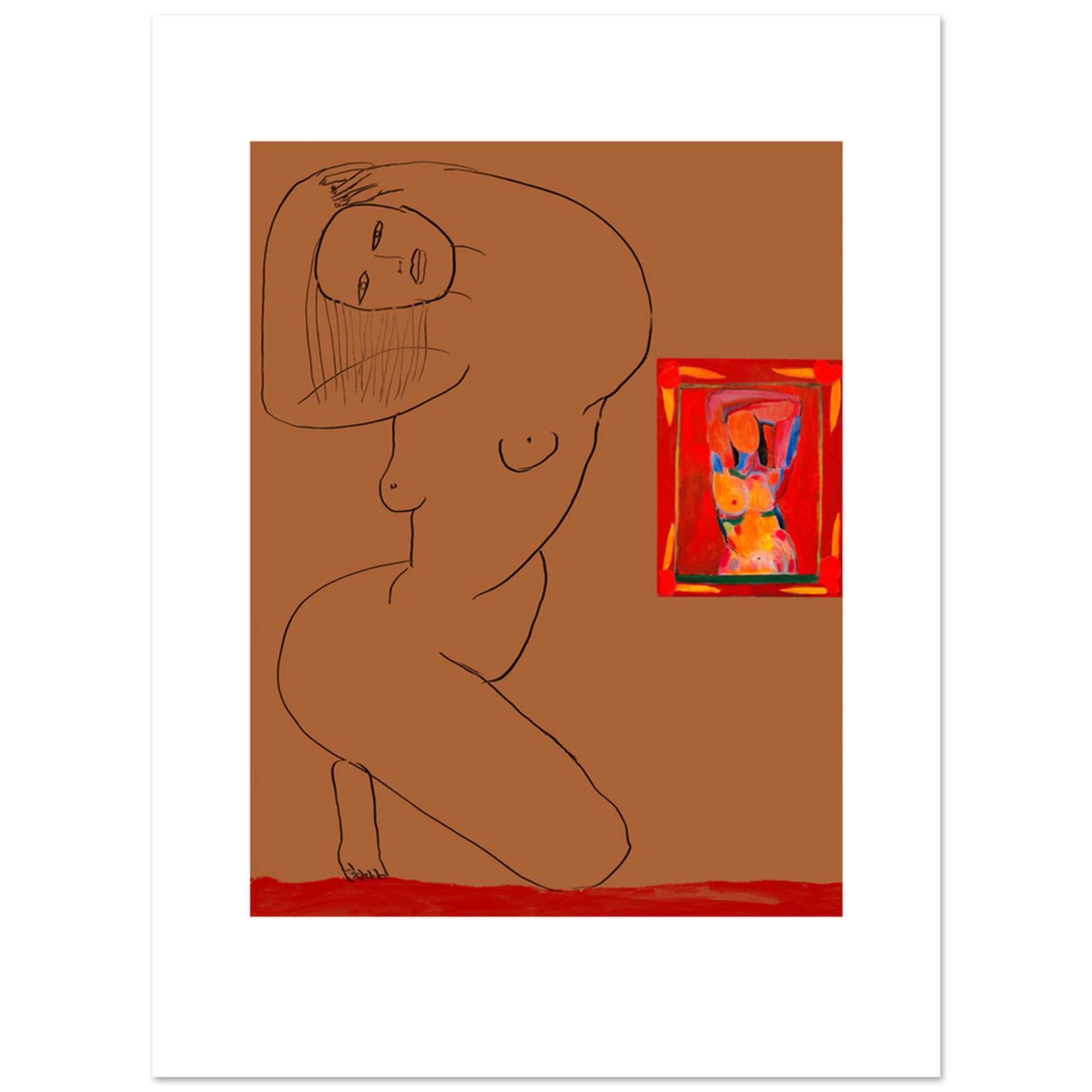 Limited Edition Prints Cinnamon nude, 2007