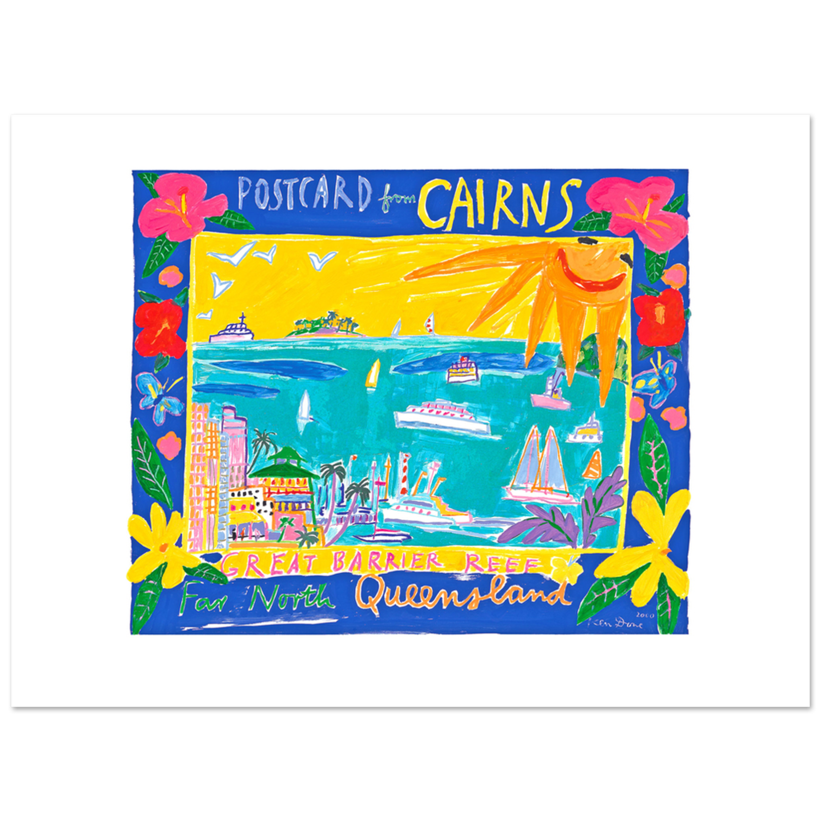 Limited Edition Prints Postcard from Cairns, 2000
