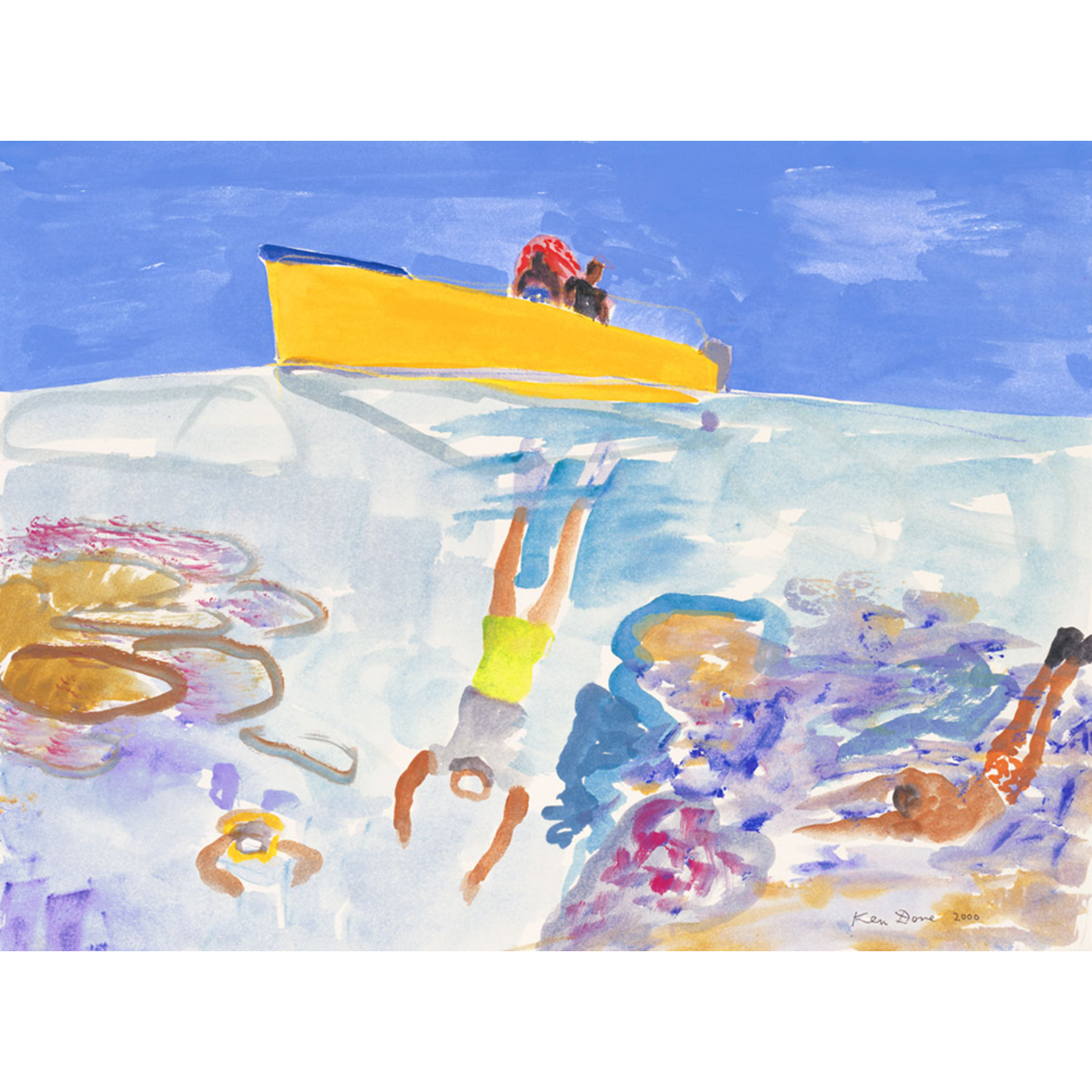 Limited Edition Prints Diving Toberua Island, 2000