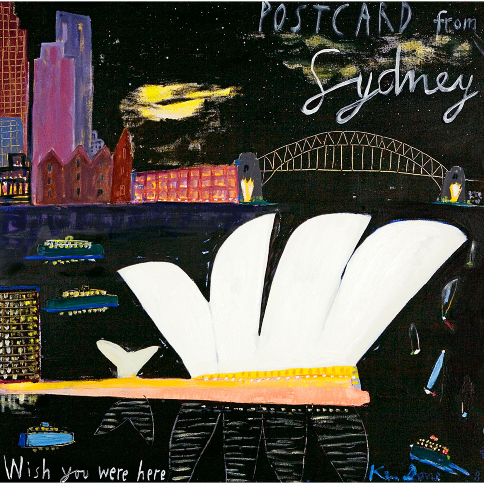Limited Edition Prints Postcard from Sydney, 2008