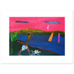 Limited Edition Prints Walking the dog, 1991
