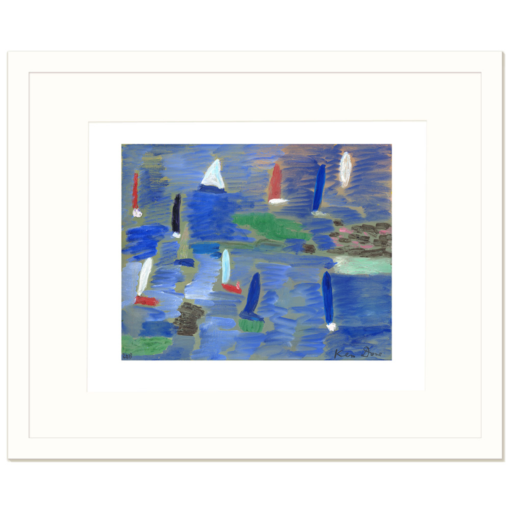 Limited Edition Prints Eleven boats, 2013