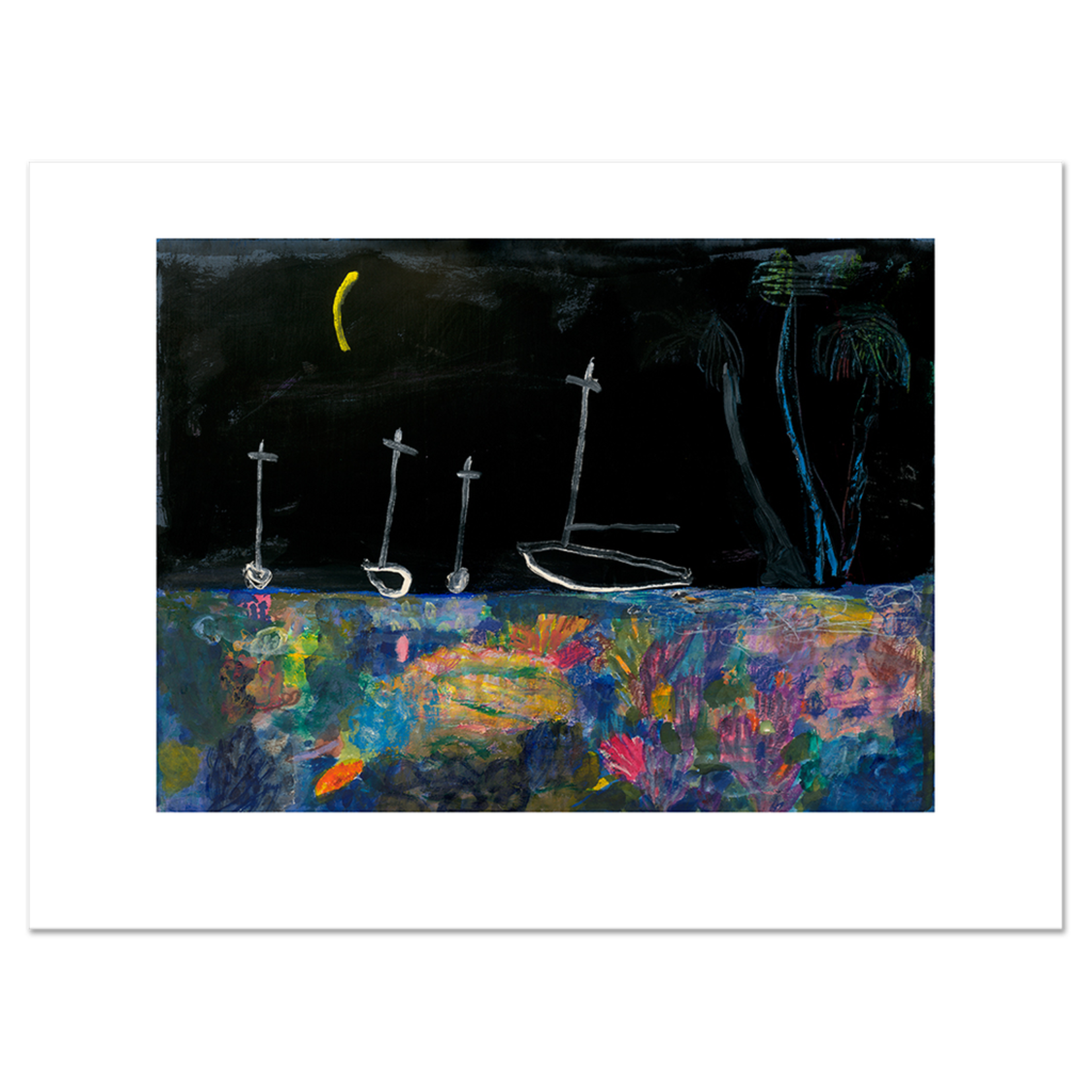 Limited Edition Prints New moon, 2011
