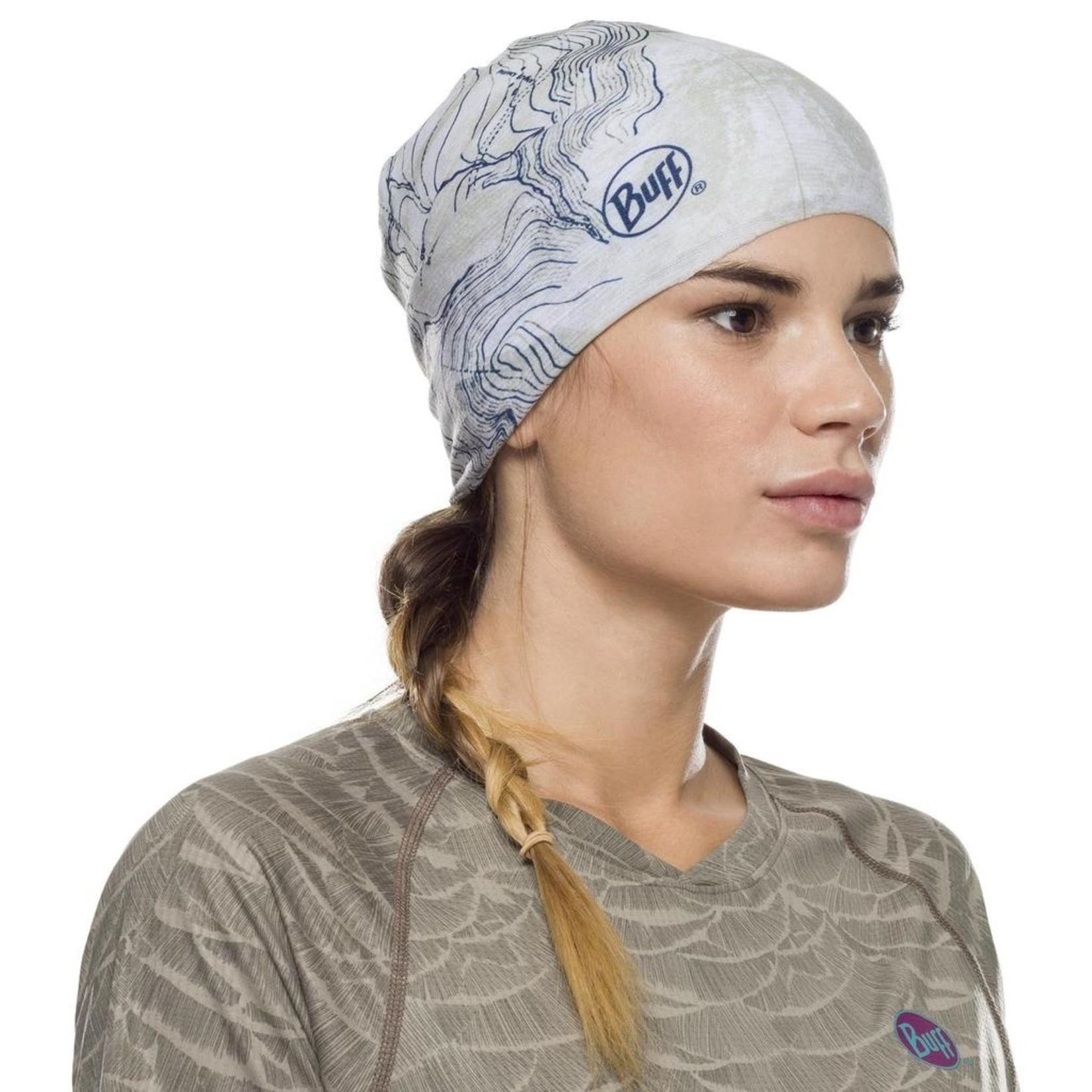 Buff Coolnet UV + Laude Silver Grey / Adult