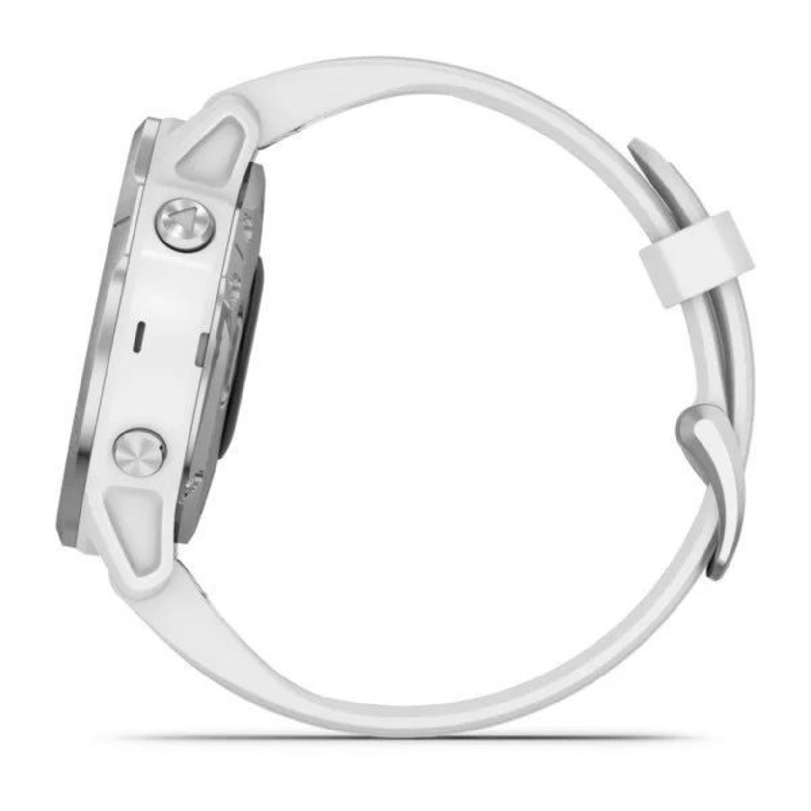 Garmin fēnix® 6S Silver with White Band