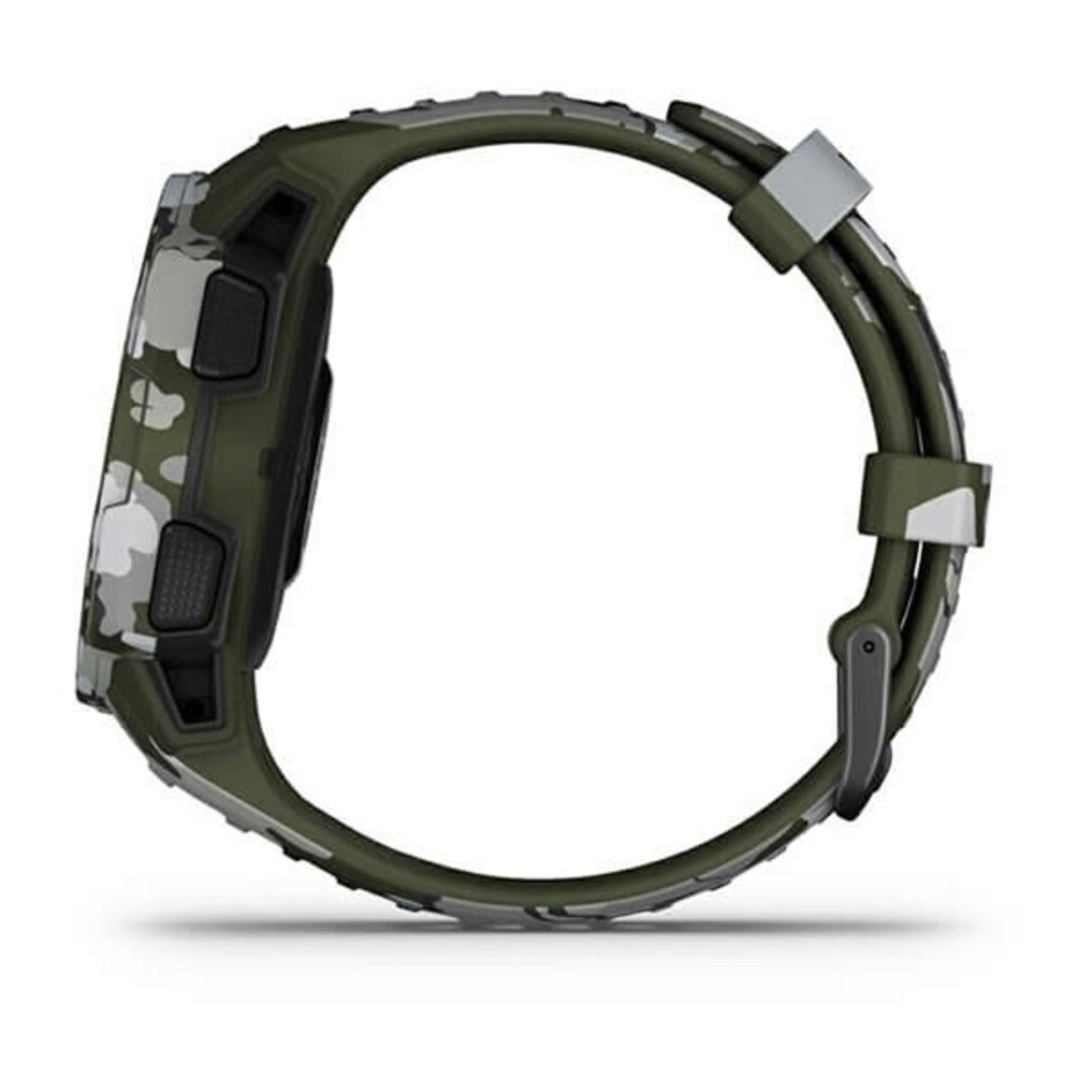 Garmin Instinct® Solar – Camo Edition - Lichen Camo