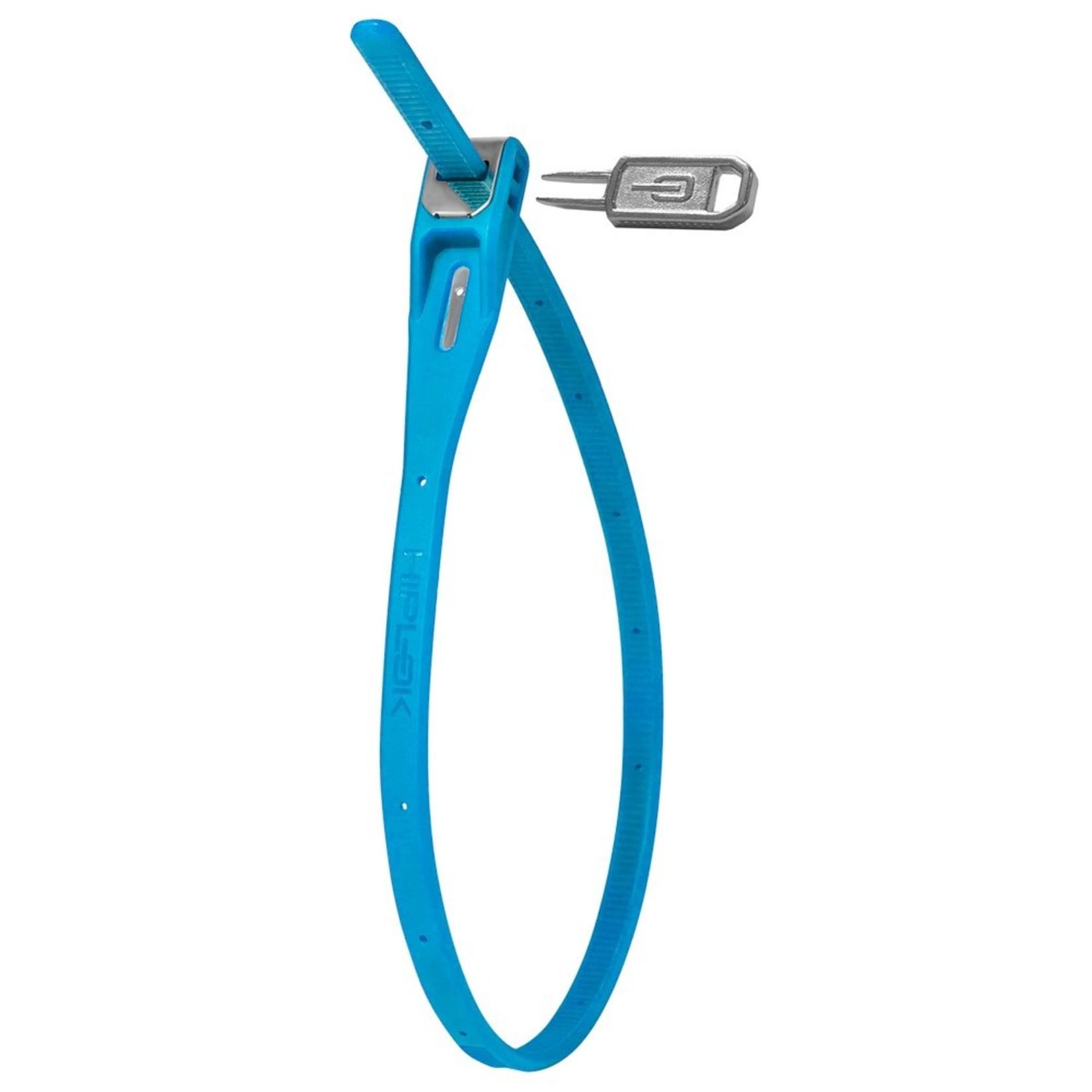 Hiplok Z-Lok Security Tie Lock Blue