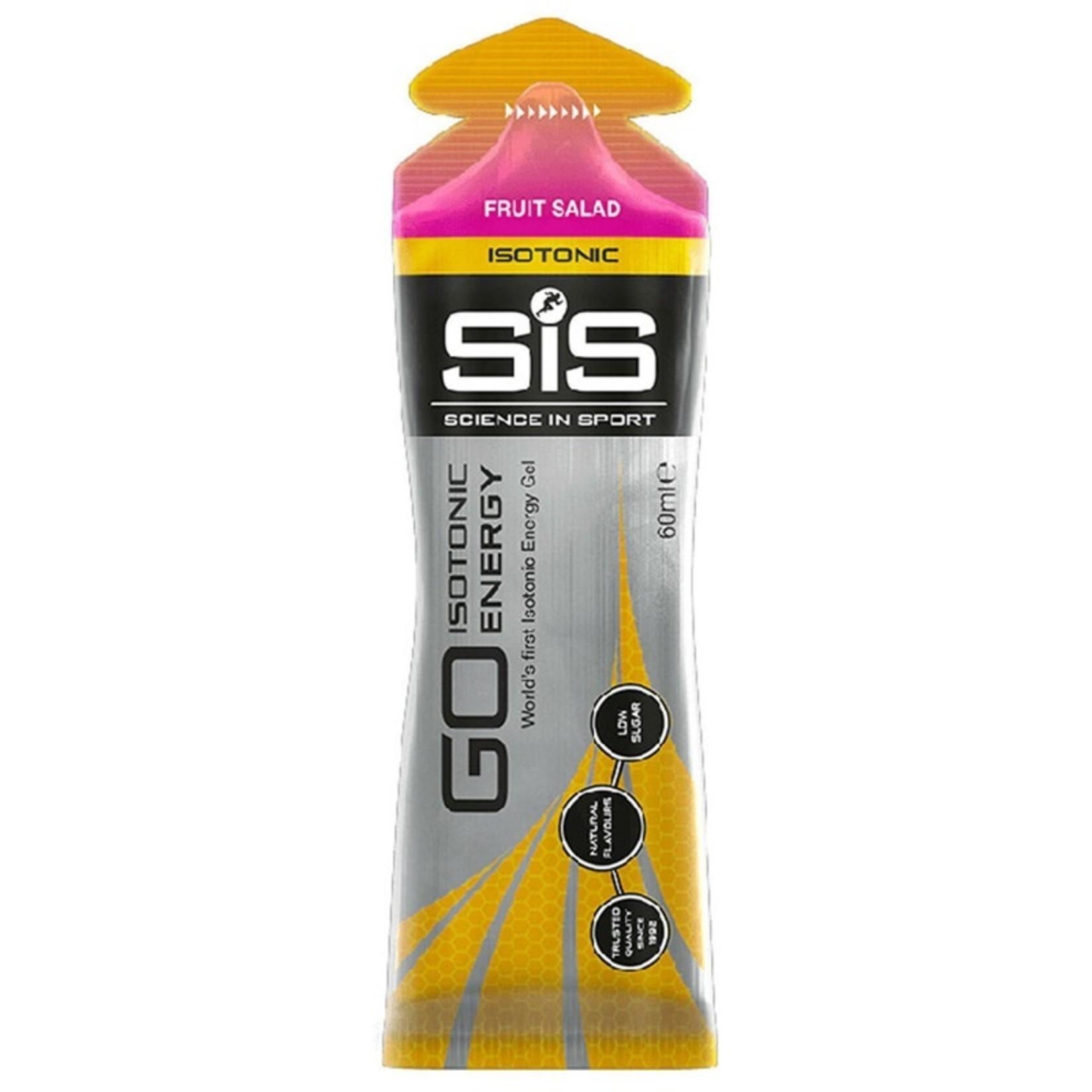 SiS GO Isotonic Energy Gel Fruit Salad 60ml