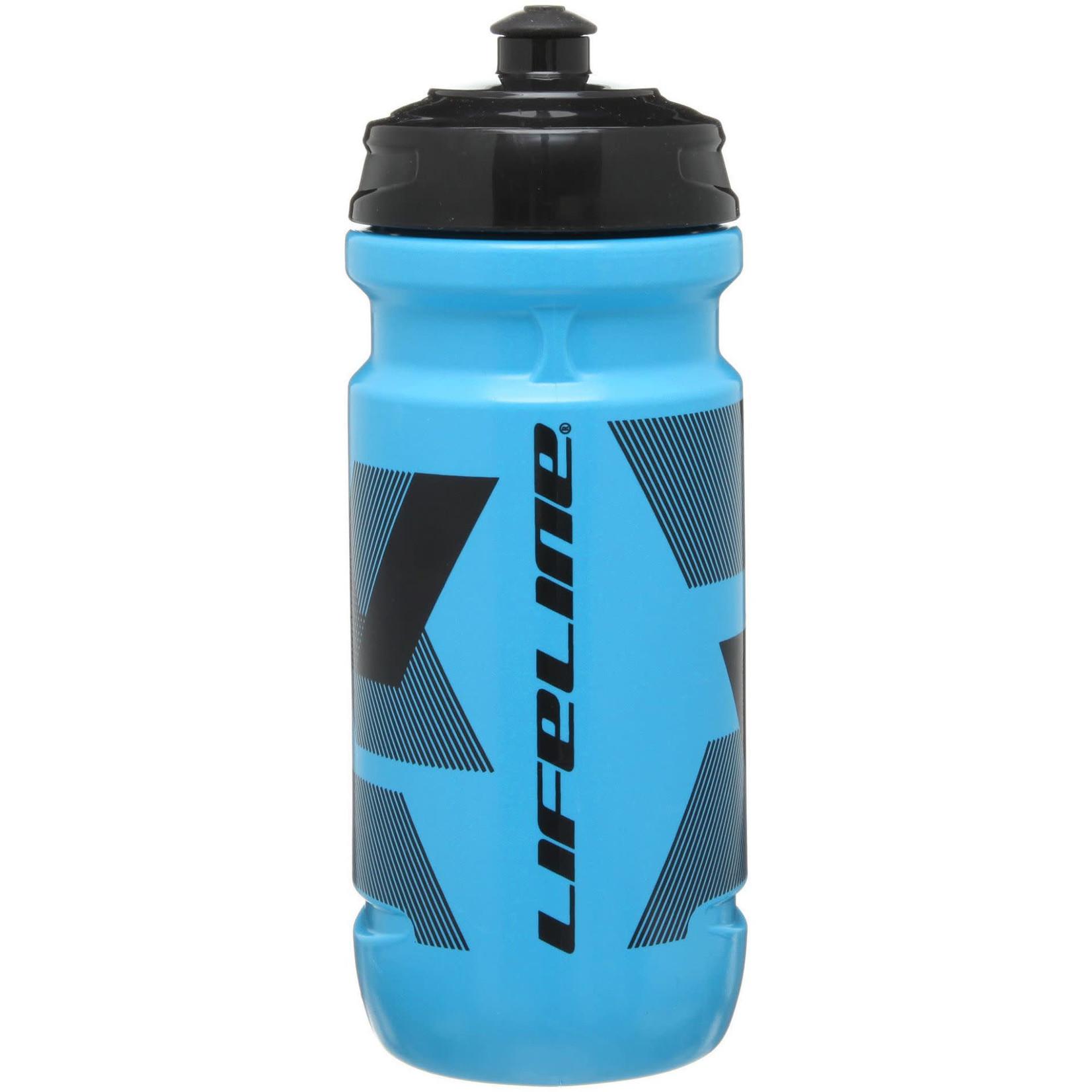 LifeLine Water bottle Blue/Black 600 ml